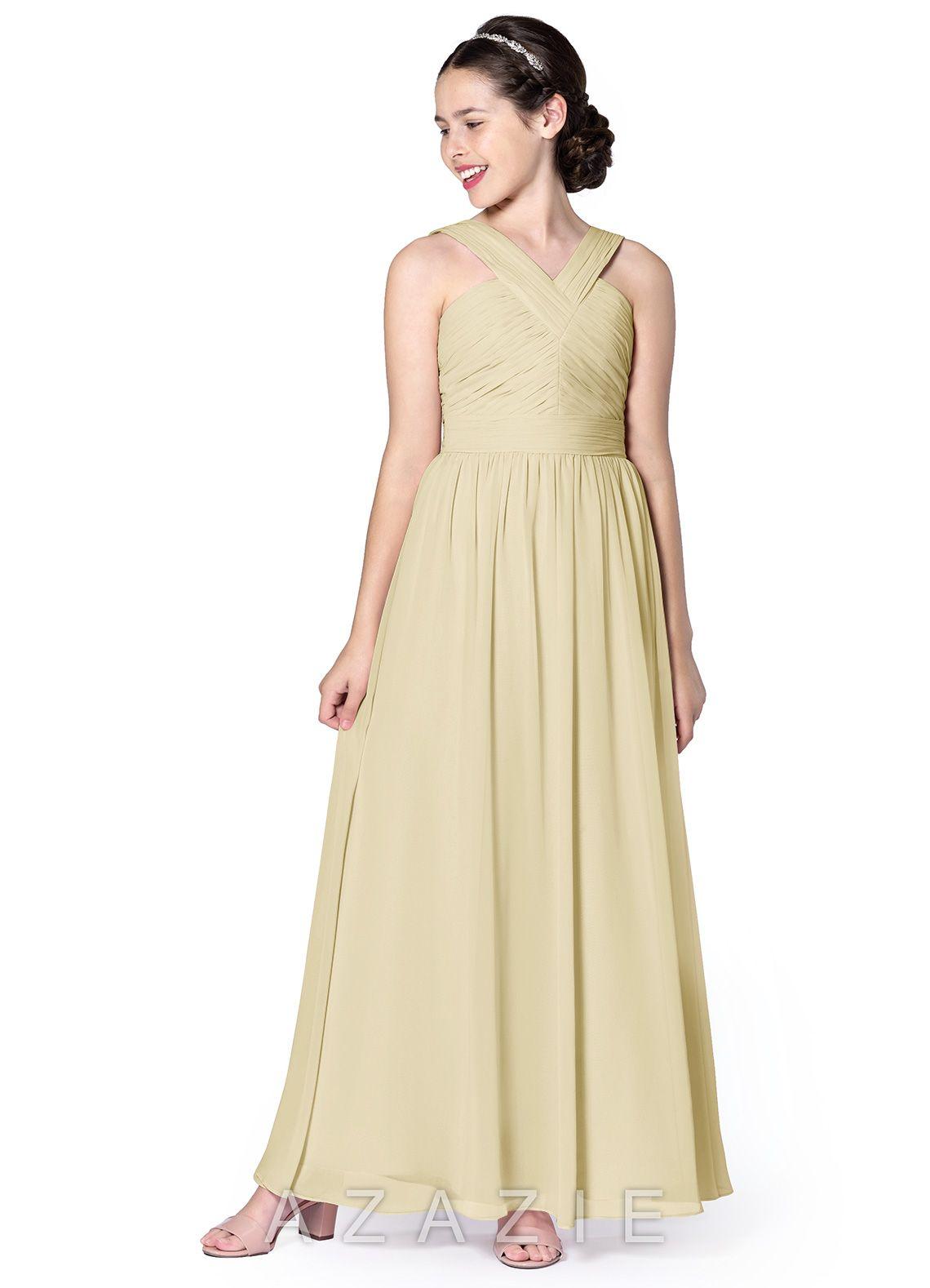 156a75d20 Azazie Londyn JBD Junior Bridesmaid Dress | Azazie