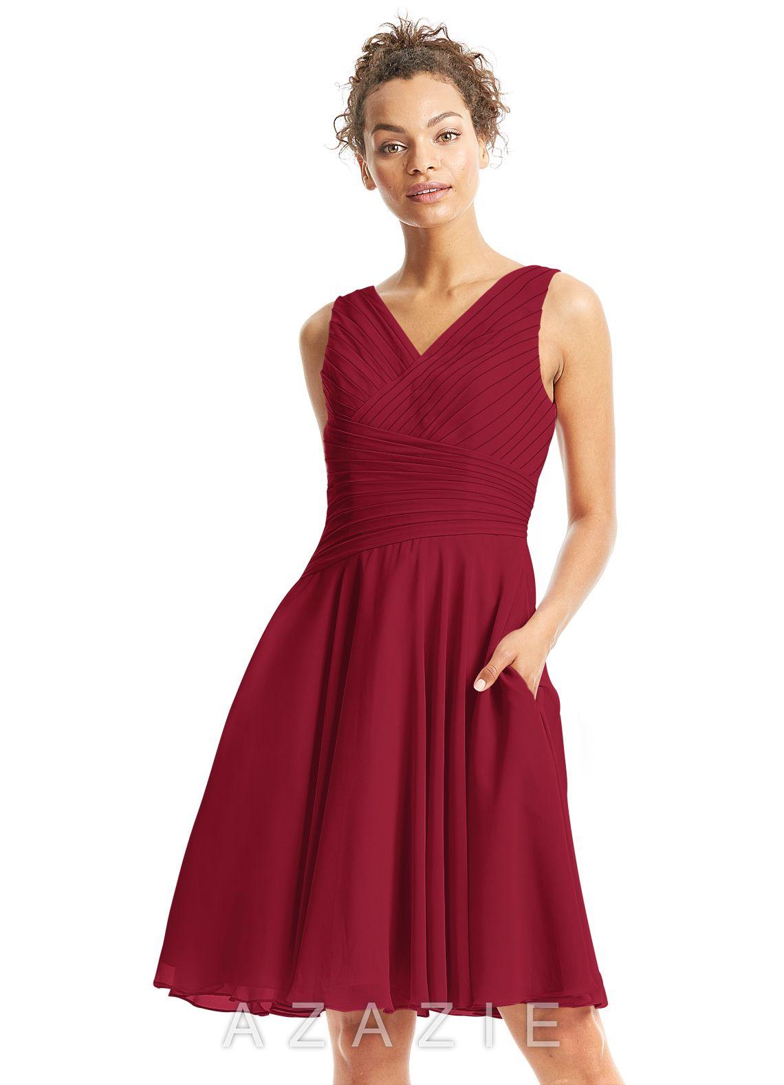 6dddc4795fb21 Azazie Jenna Bridesmaid Dress | Azazie