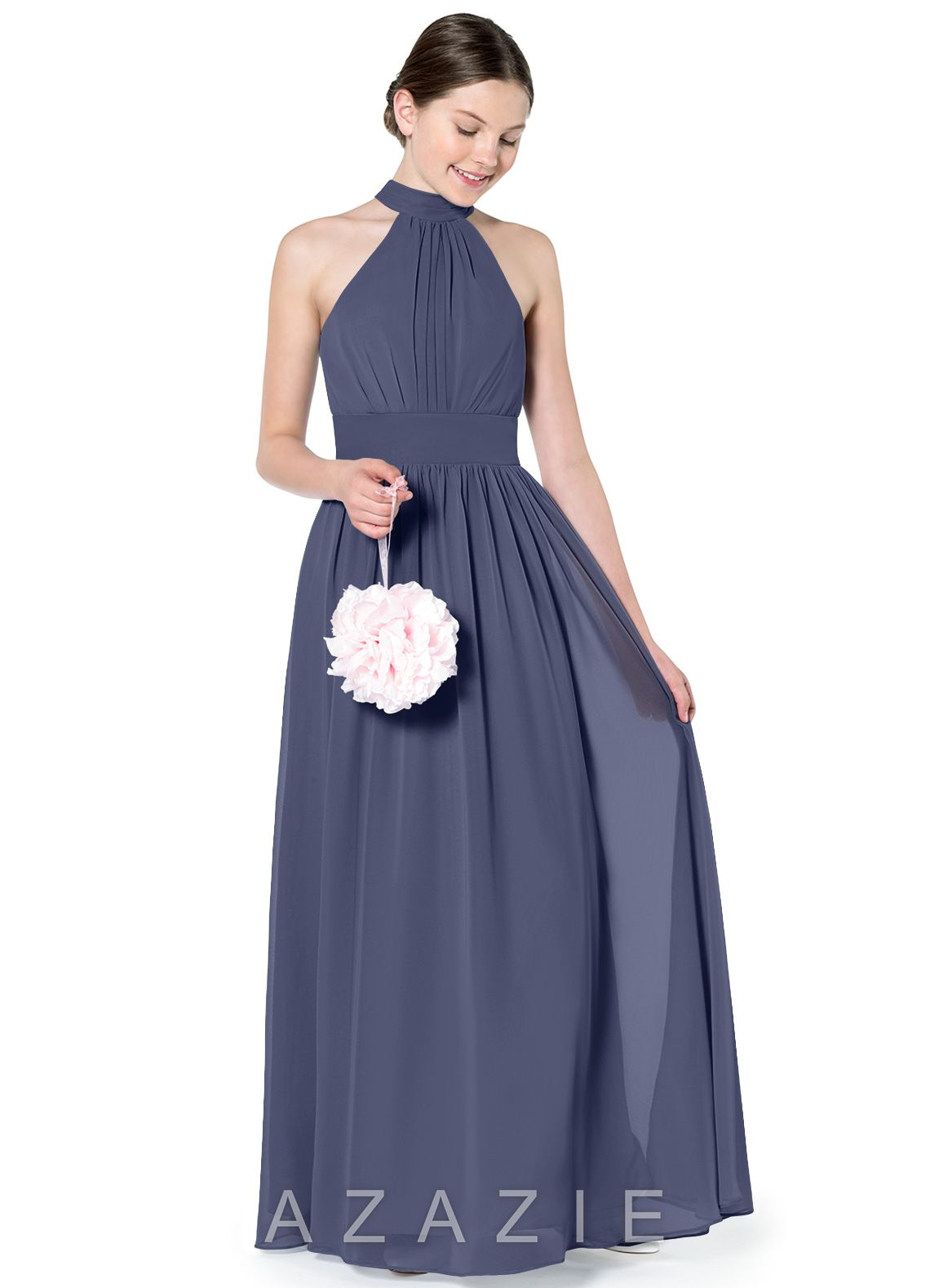 Azazie Iman JBD Junior Bridesmaid Dress |