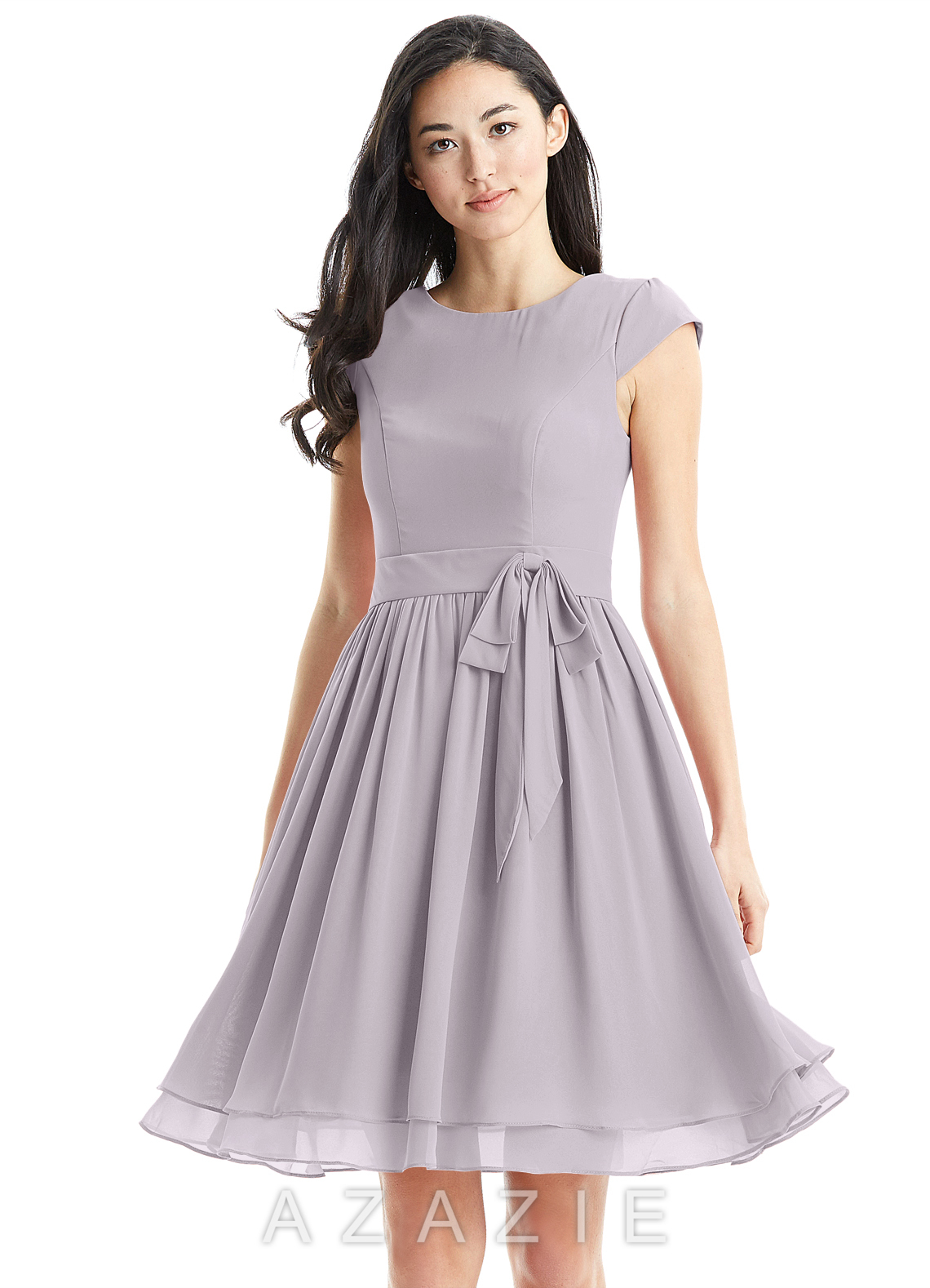 57759d12c0 Azazie Ingrid Bridesmaid Dress - Dusk