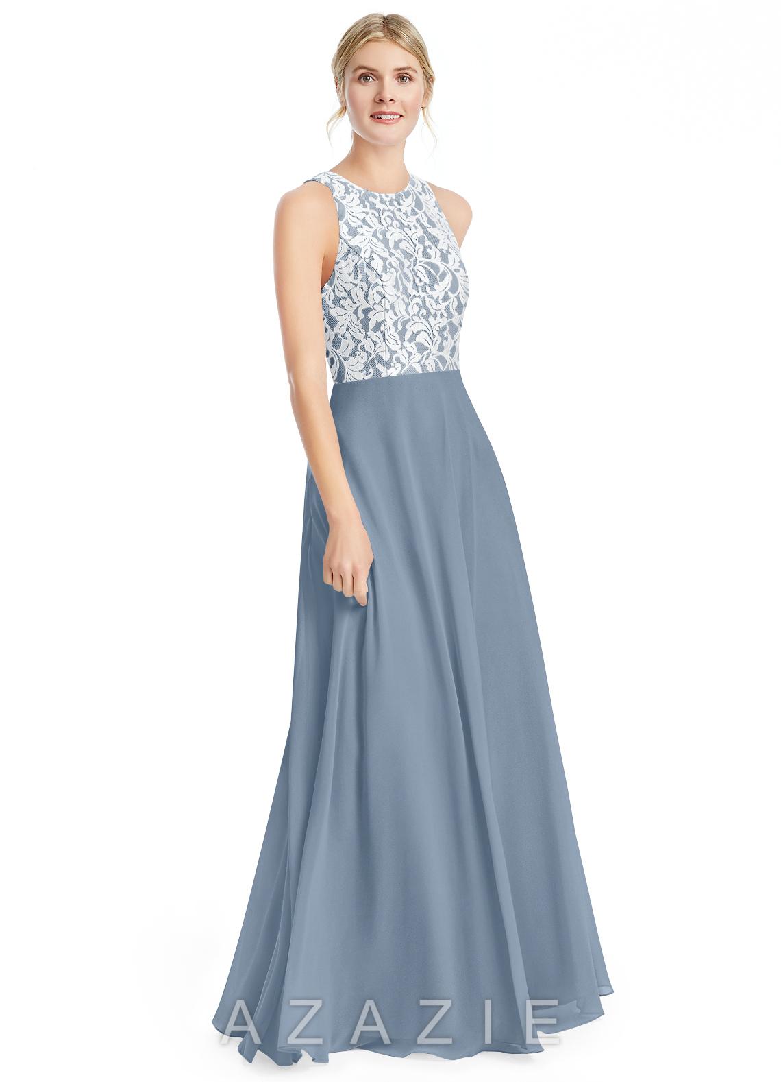 e56194172e4 Azazie Kate Bridesmaid Dress - Dusty Blue