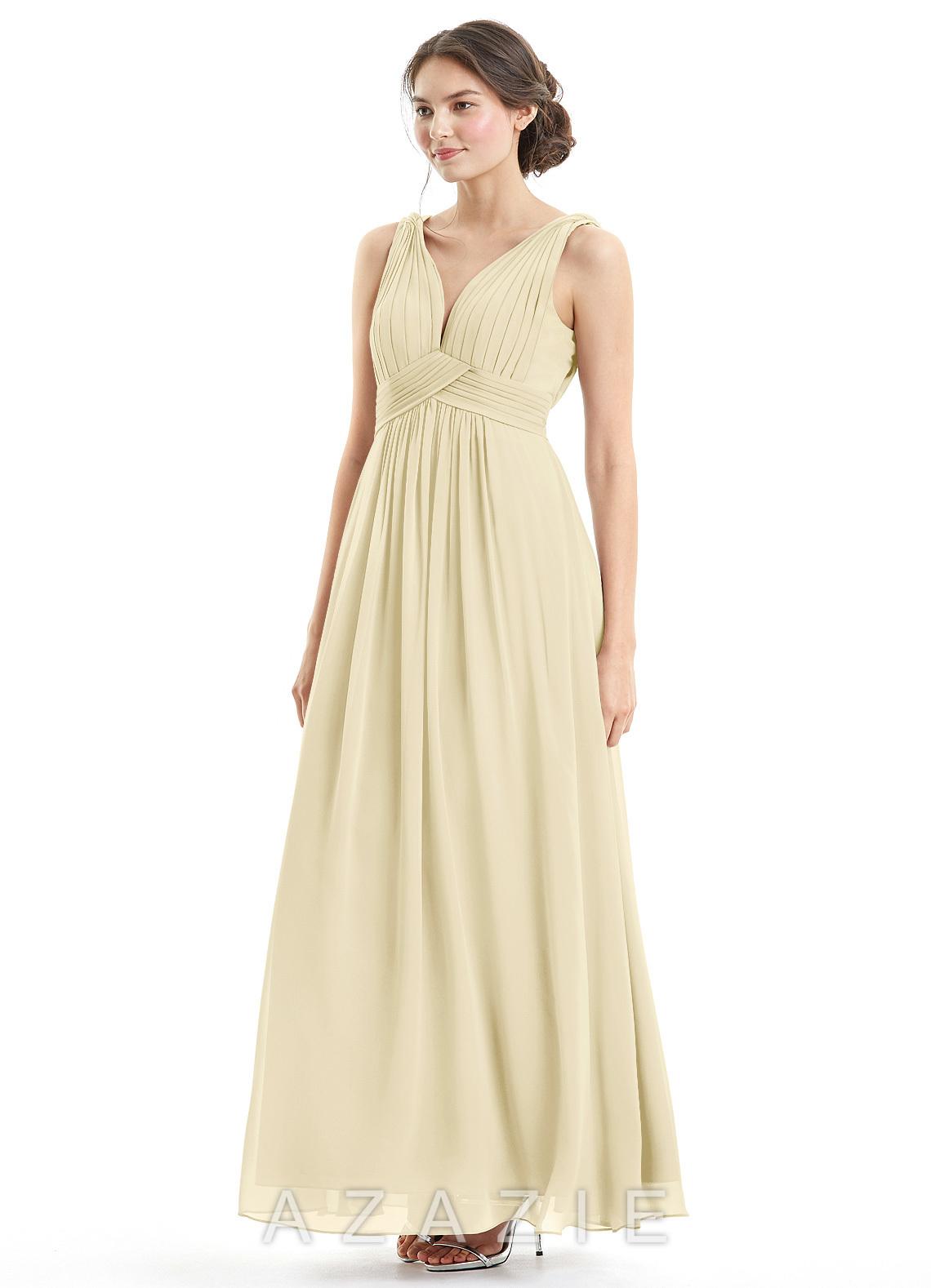 0e5263ba6f2 Azazie Hillary Bridesmaid Dress - Champagne