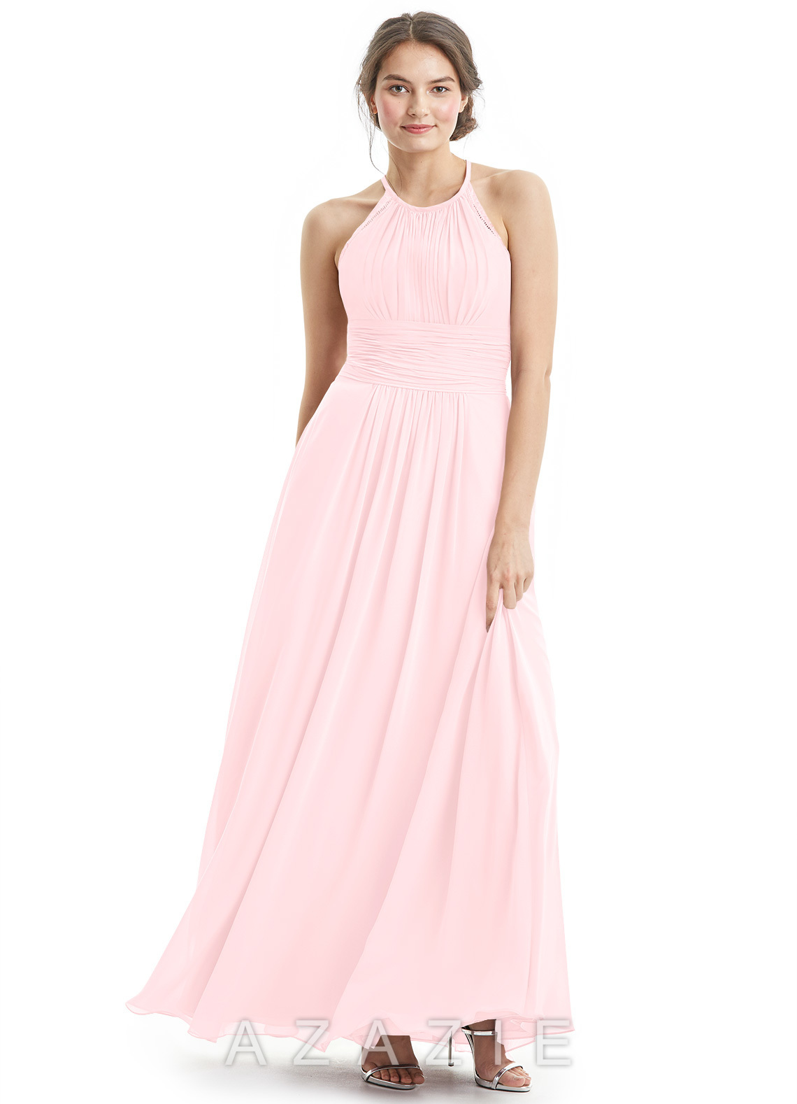 a71155300d1d Azazie Regina Bridesmaid Dress - Blushing Pink | Azazie