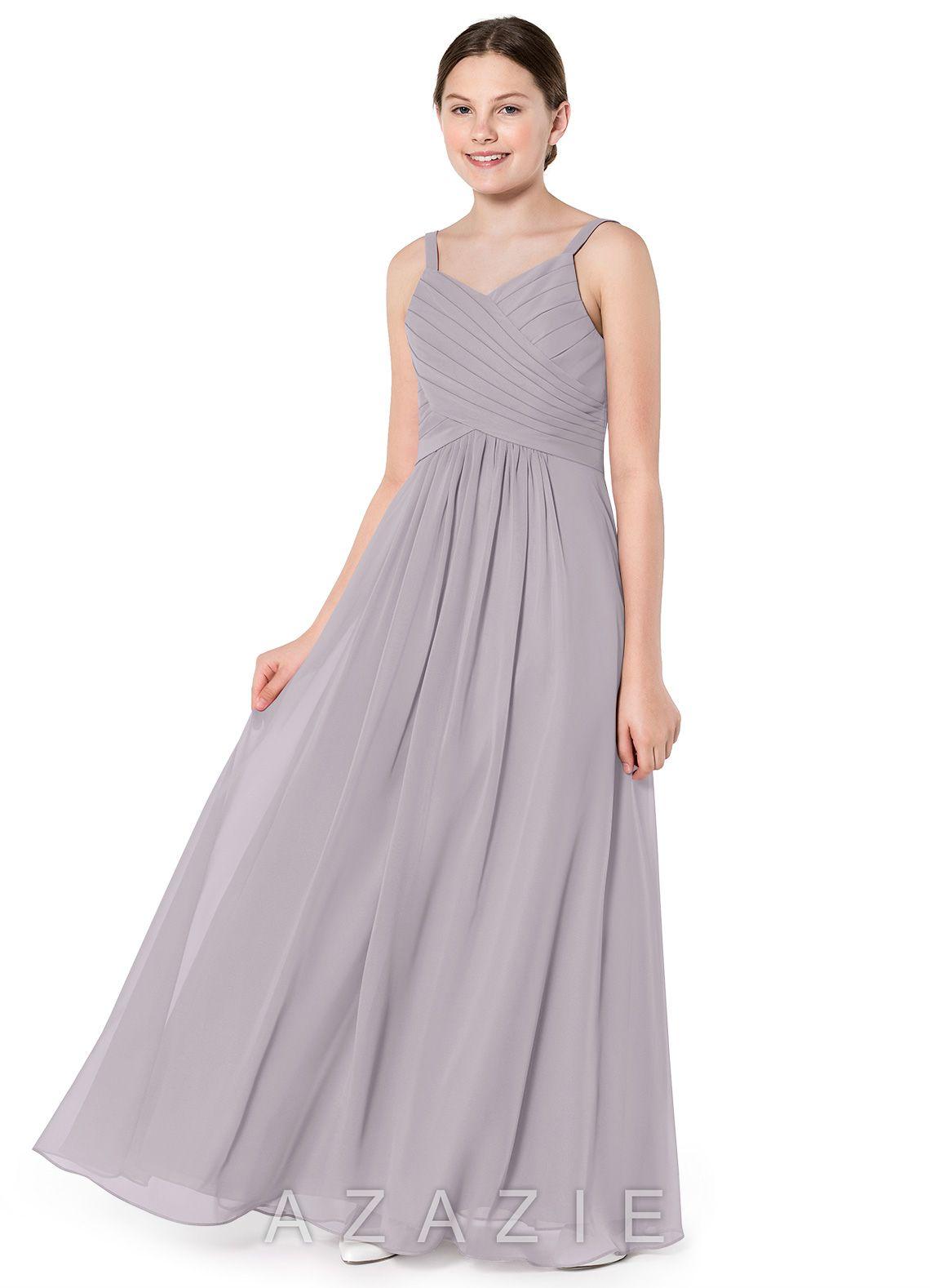 cb7b32f1f Azazie Haleigh JBD Junior Bridesmaid Dress | Azazie