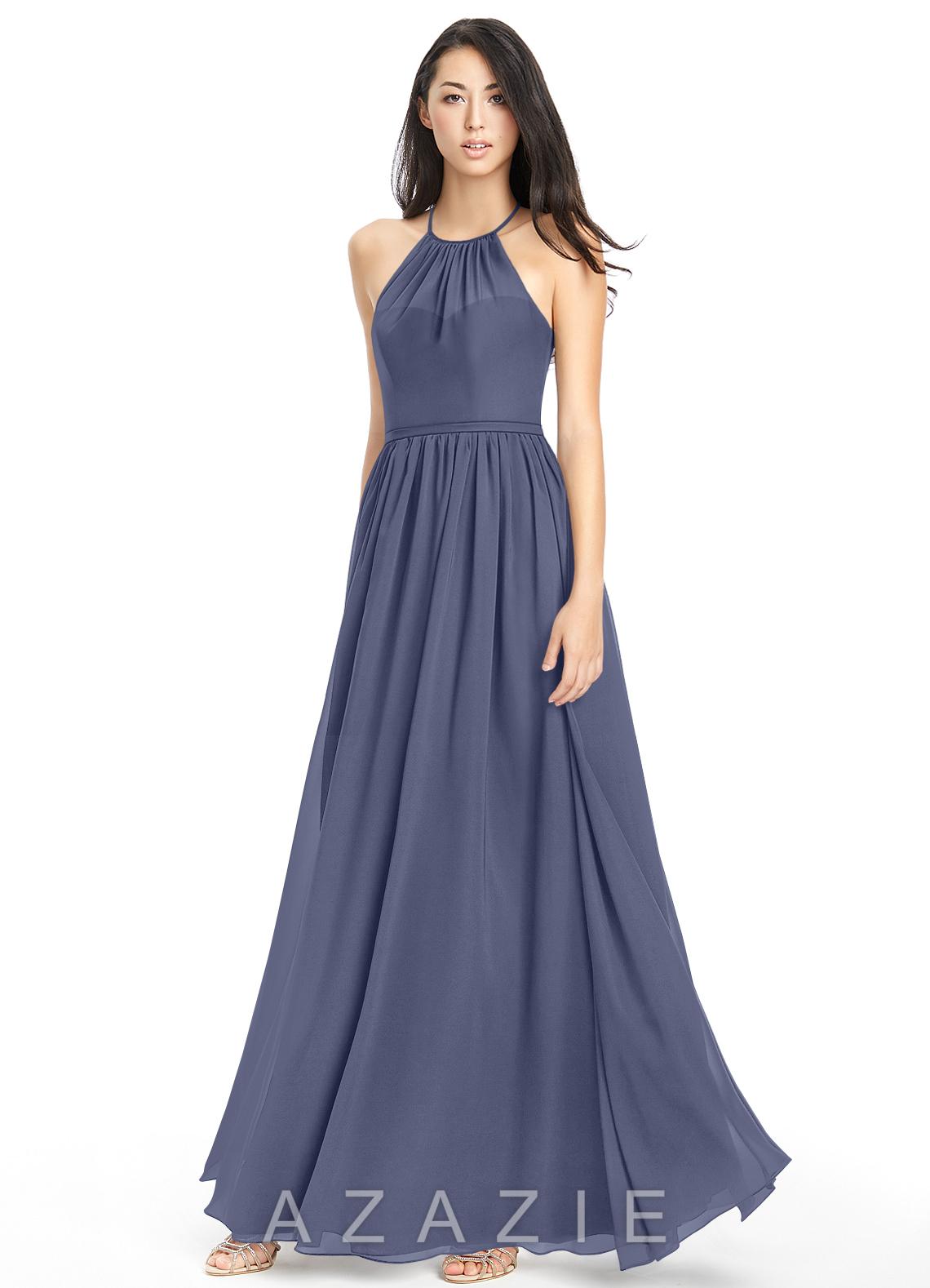 a9c58a7f00 Azazie Kailyn Bridesmaid Dress - Stormy