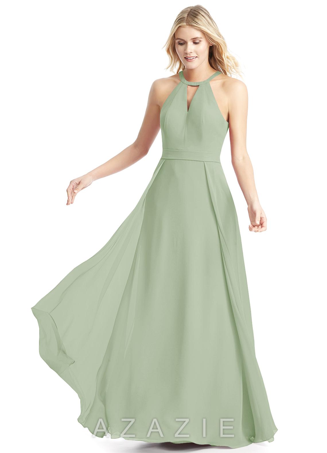 d15836cd60f Azazie Melody Bridesmaid Dress - Dusty Sage