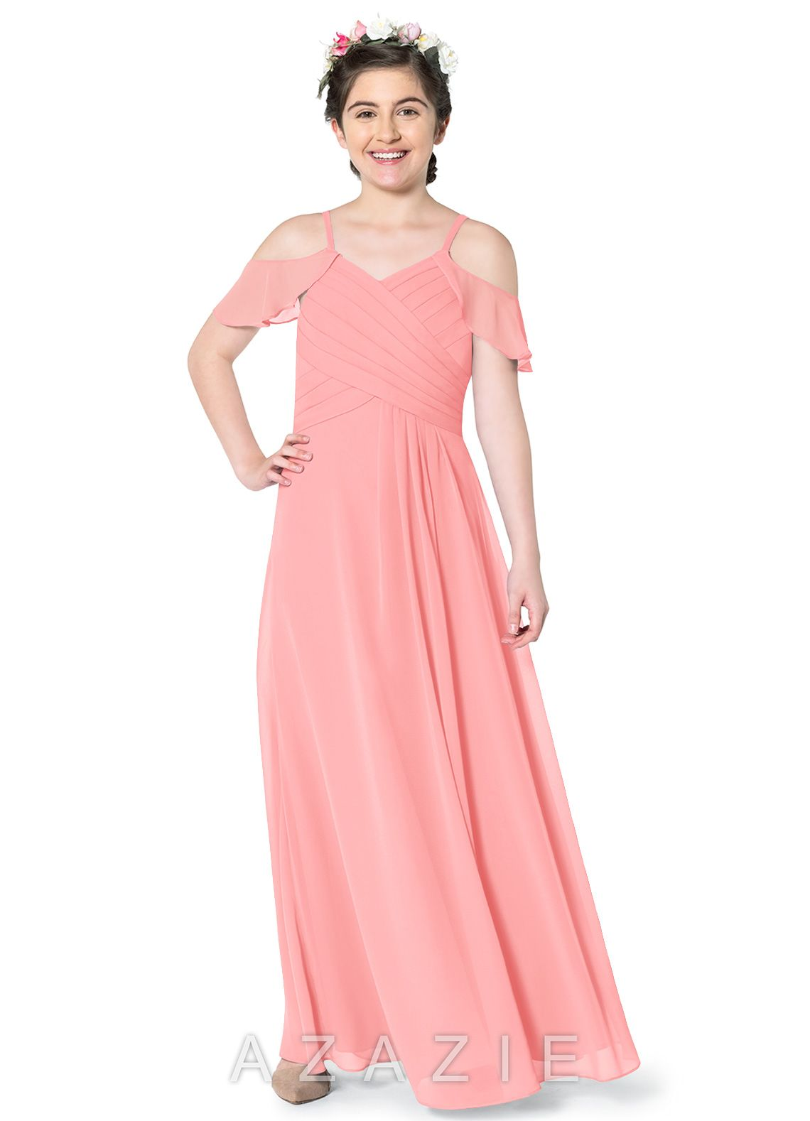 c47de7dc4a9 Azazie Dakota JBD Junior Bridesmaid Dress