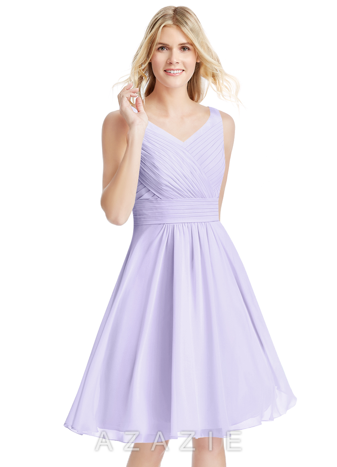 51915264c6a Azazie Grace Bridesmaid Dress - Lilac