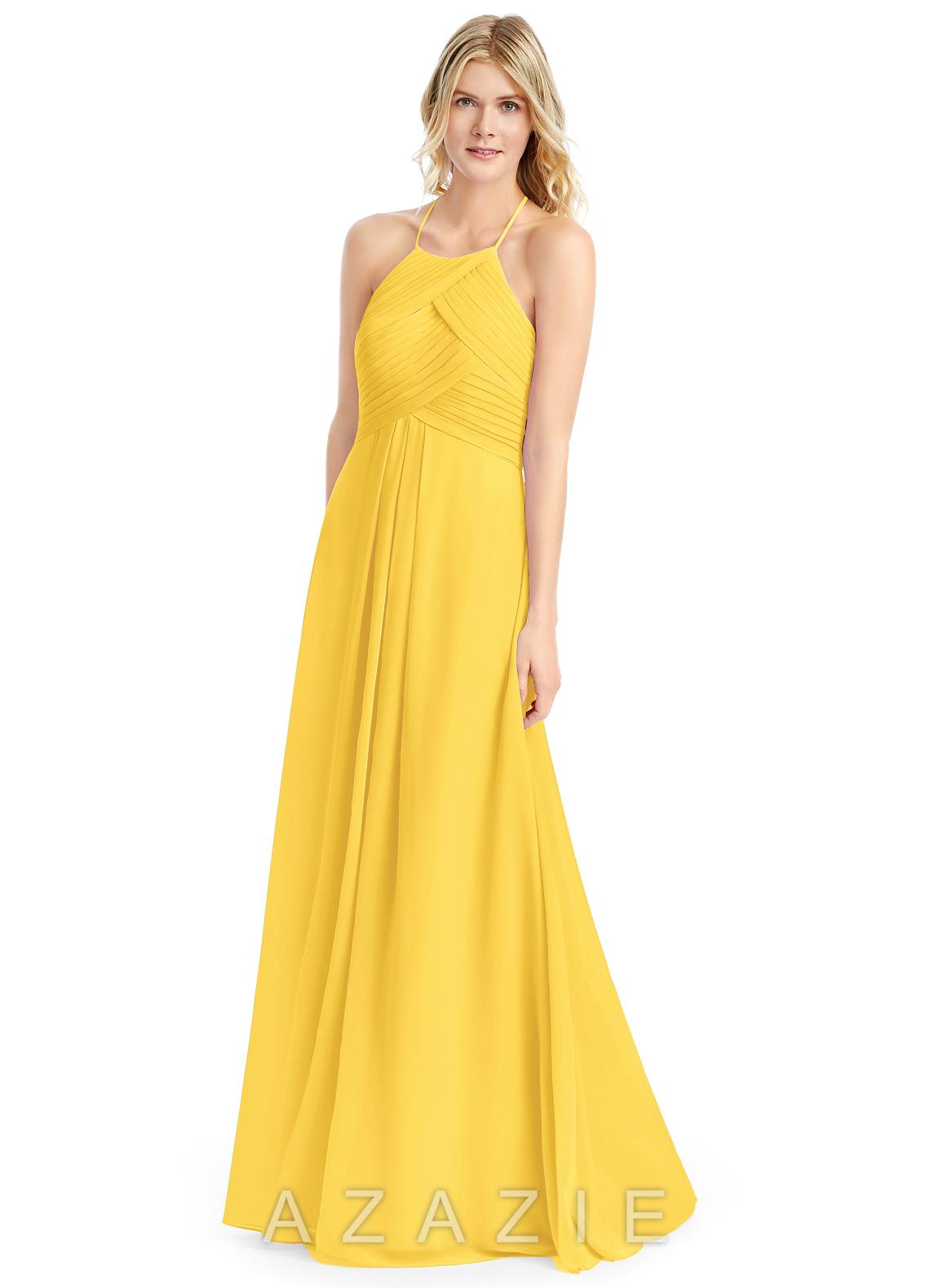 3598d59a9e7 Azazie Ginger Bridesmaid Dress - Marigold