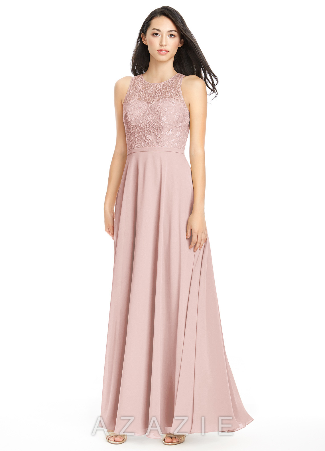 Dusty Rose Bridesmaid Dresses &amp- Dusty Rose Gowns - Azazie