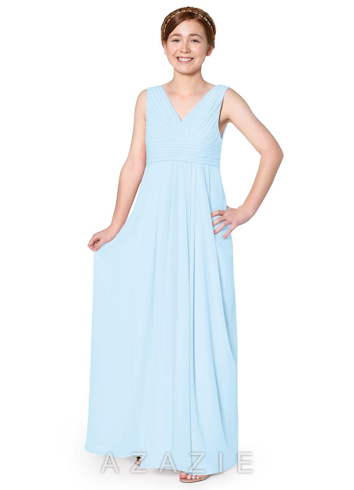 3e1e34aa085 Azazie Zoe JBD Junior Bridesmaid Dress