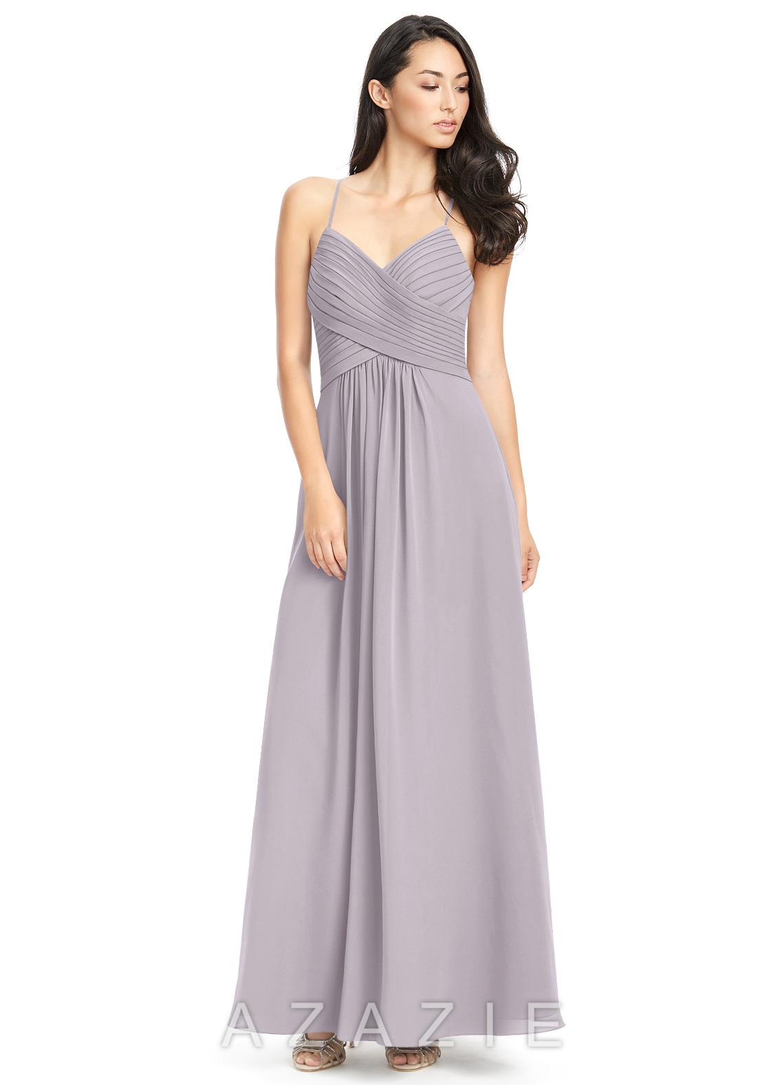e4ed38279db Azazie Haleigh Bridesmaid Dress - Dusk
