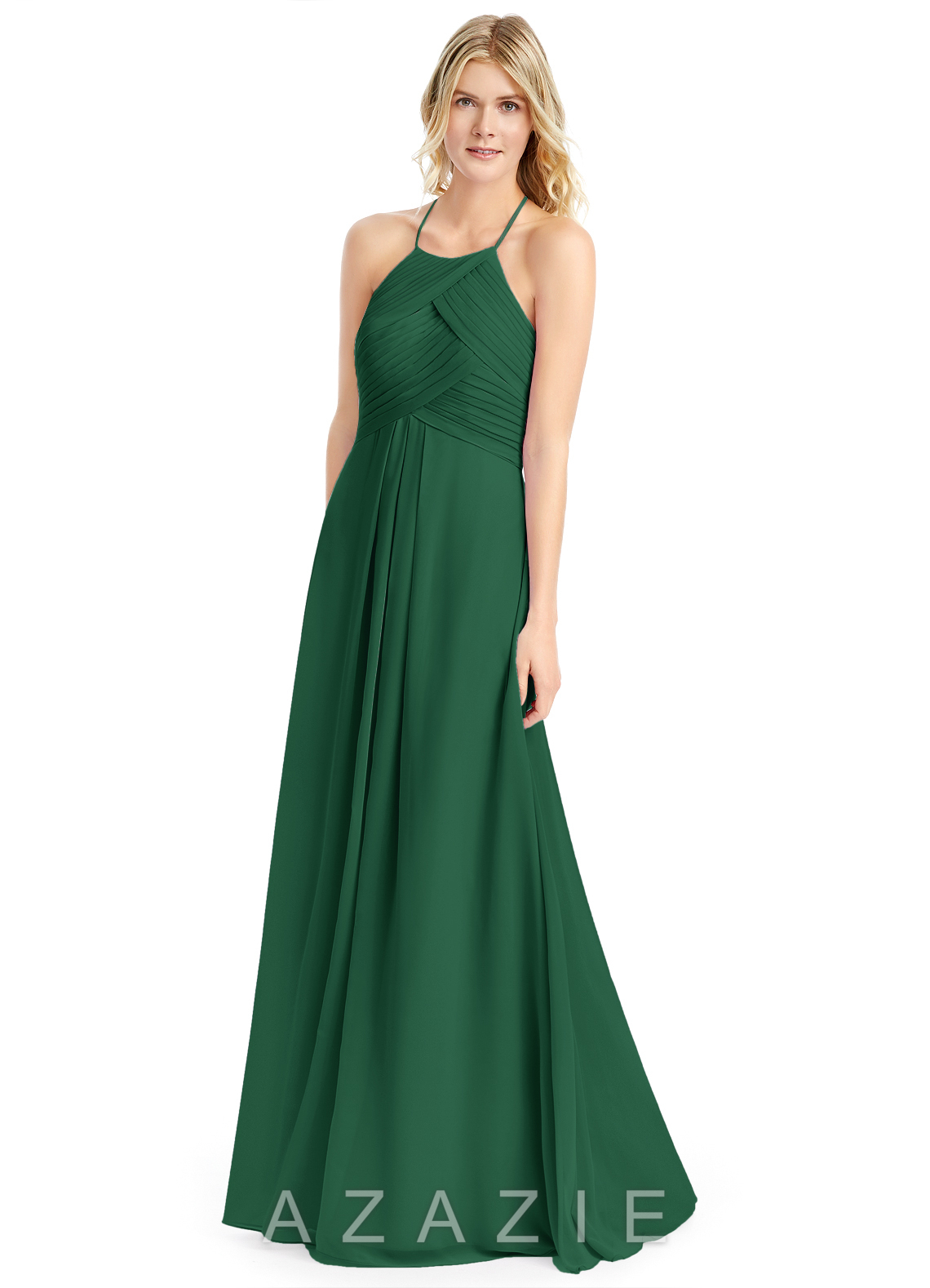Dark Green Bridesmaid Dresses &amp- Dark Green Gowns - Azazie