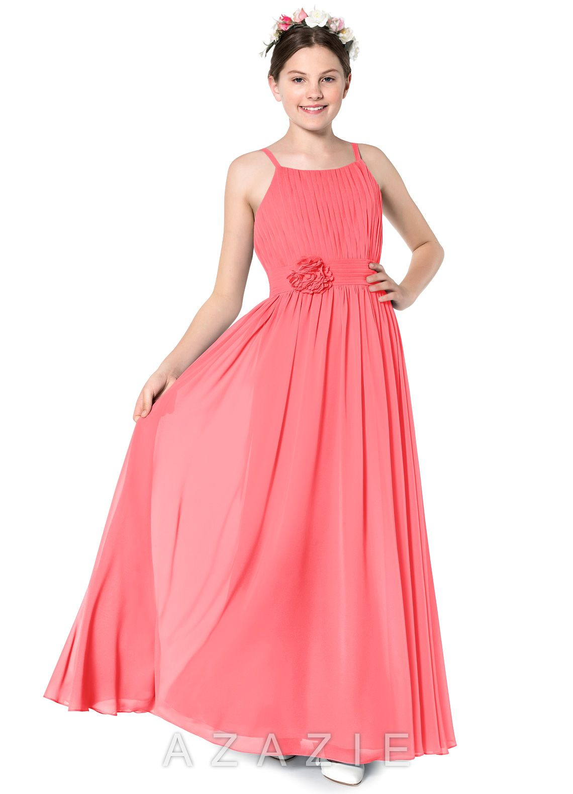 da6b6ea62 Azazie Astrid JBD Junior Bridesmaid Dress | Azazie