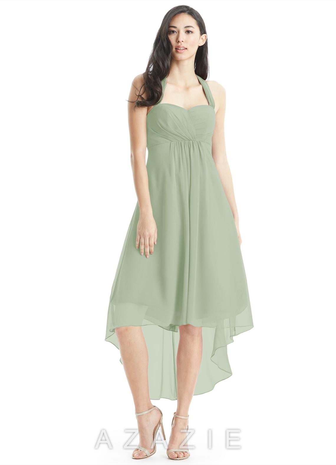 42245f72829 Azazie Annabel Bridesmaid Dress - Dusty Sage