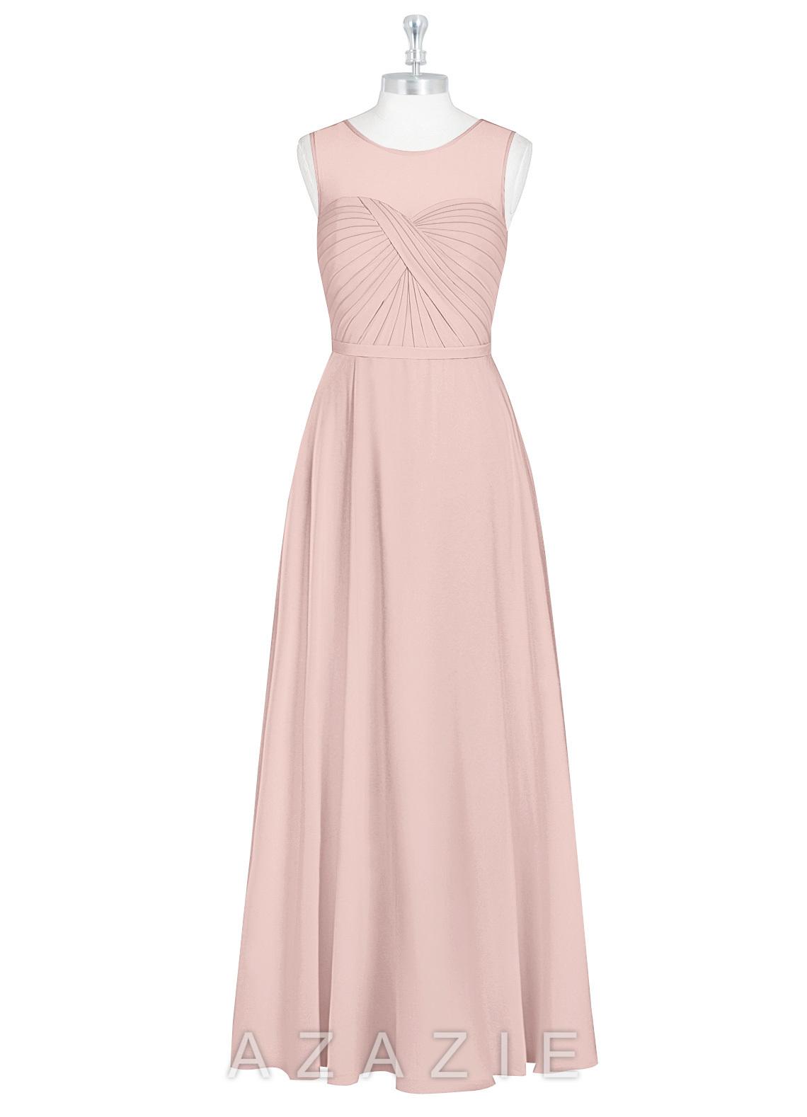 3b0ff80df6 Azazie Justine Bridesmaid Dress - Dusty Rose