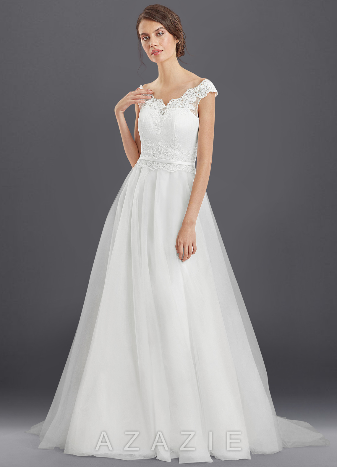 Azazie Cindy BG Wedding Dress