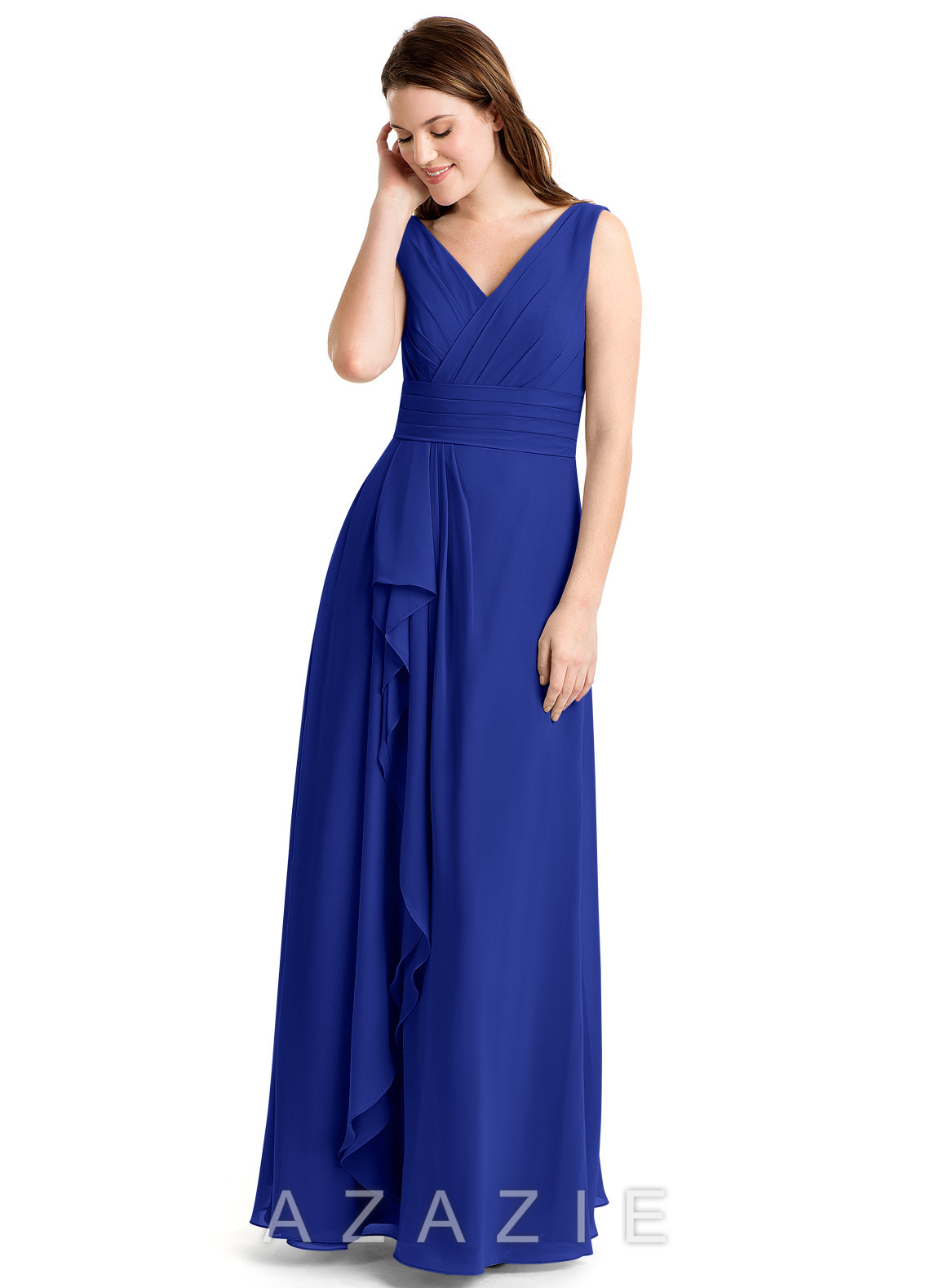 Azazie Julianna Bridesmaid Dress - Royal