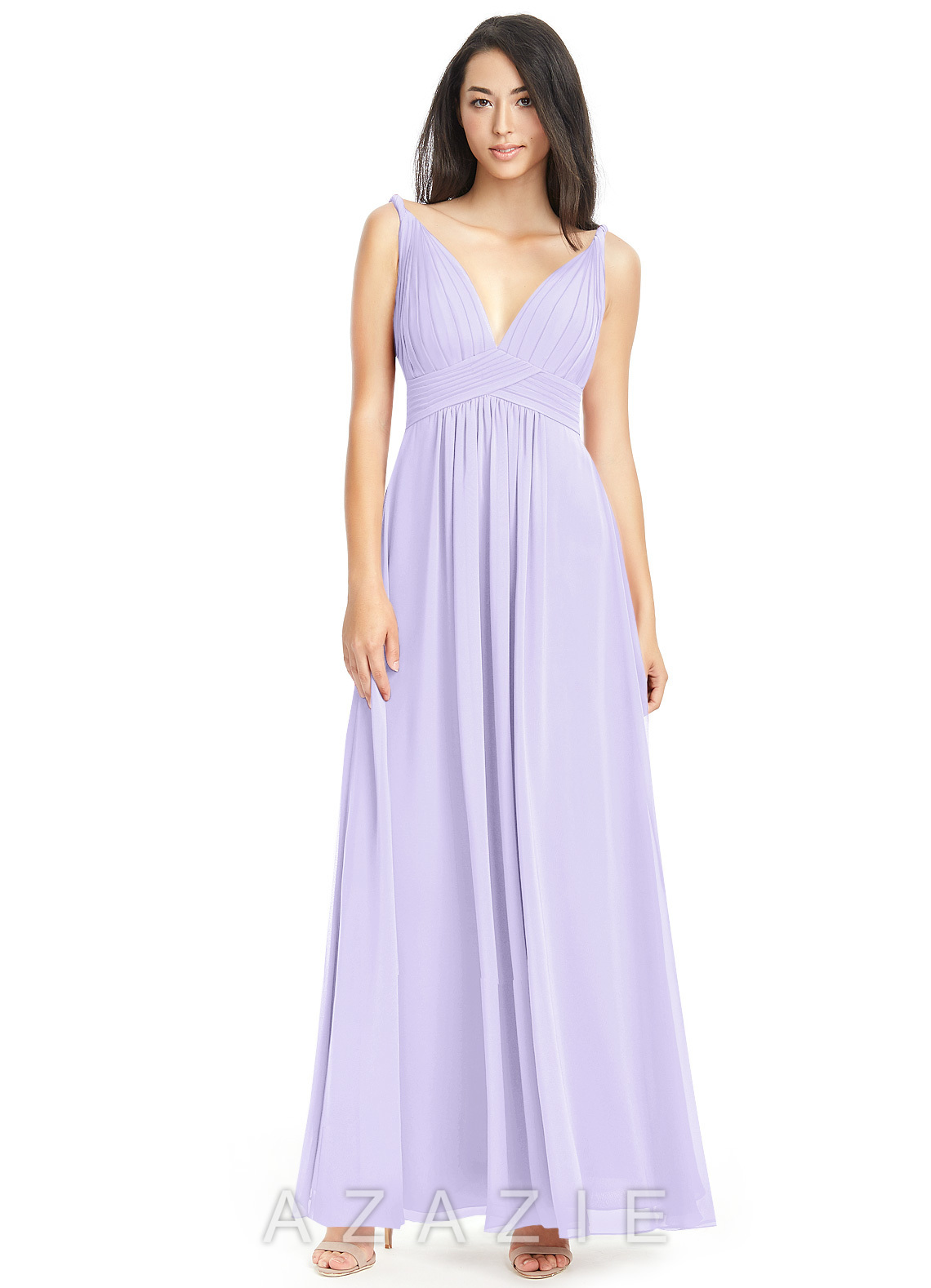 aabbb9f2090d4 Azazie Maren Bridesmaid Dress - Lilac | Azazie