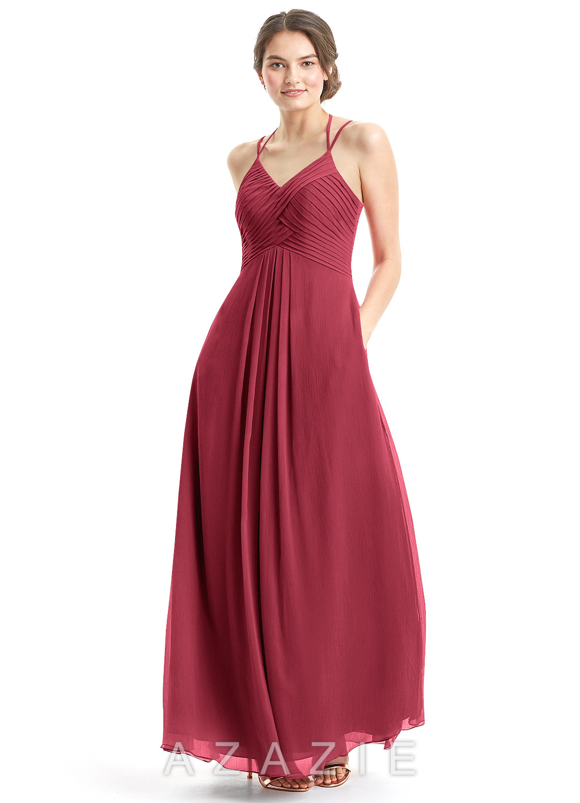 Home Bridesmaid Dresses Azazie Eden Loading Zoom