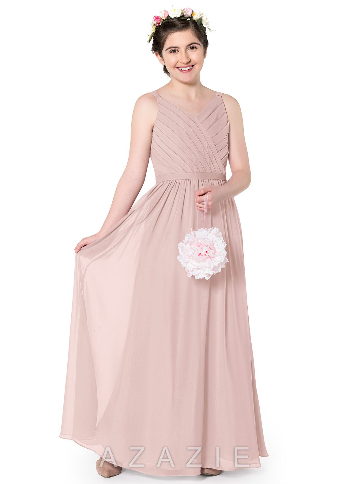 Azazie Leanna JBD Junior Bridesmaid Dress