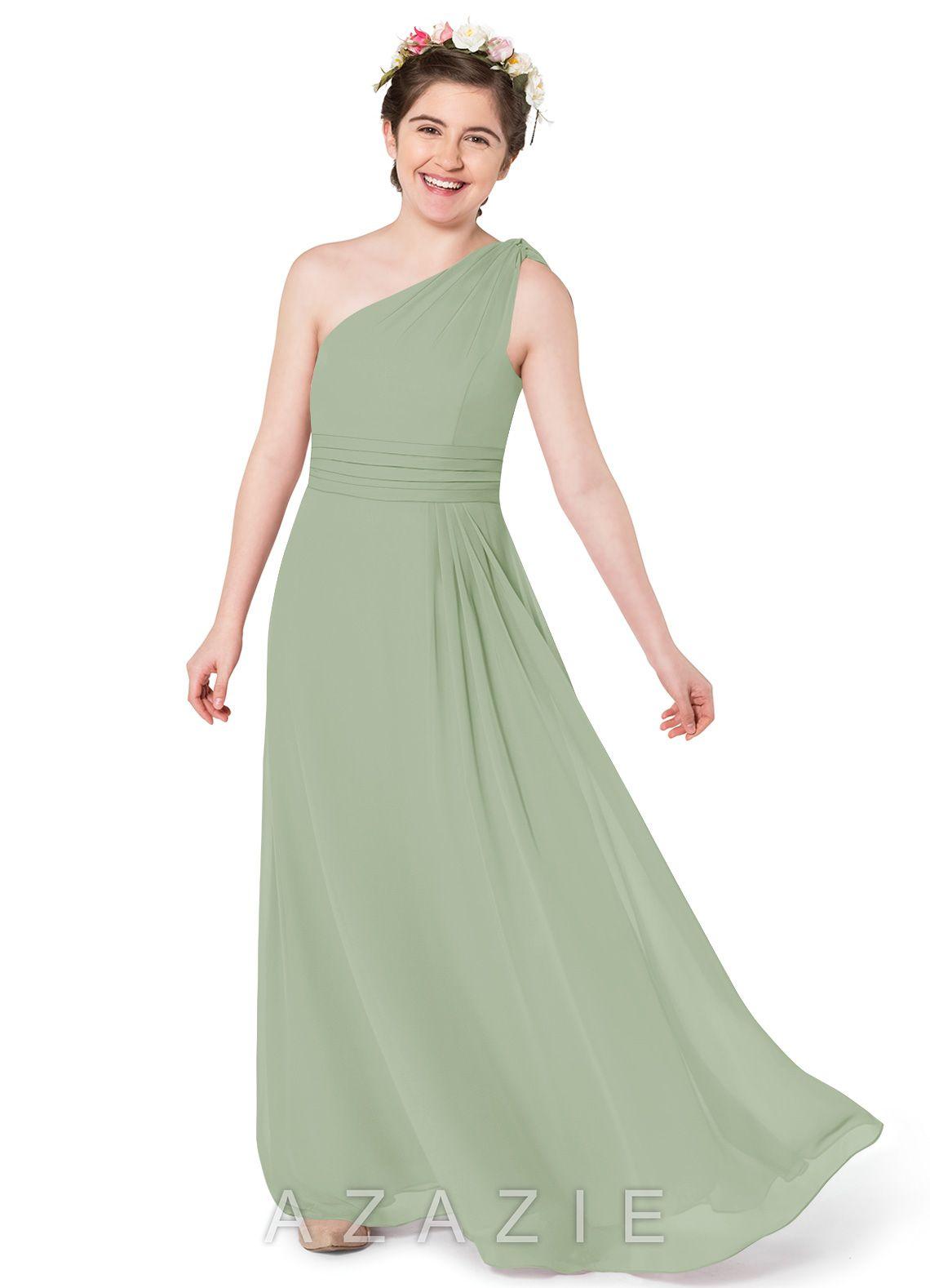 31f745066 Azazie Cleo JBD Junior Bridesmaid Dress | Azazie
