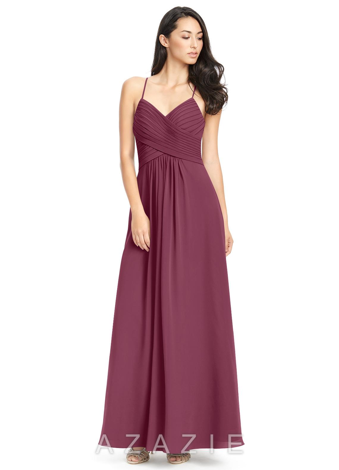 9bbb73d799b Azazie Haleigh Bridesmaid Dress - Mulberry
