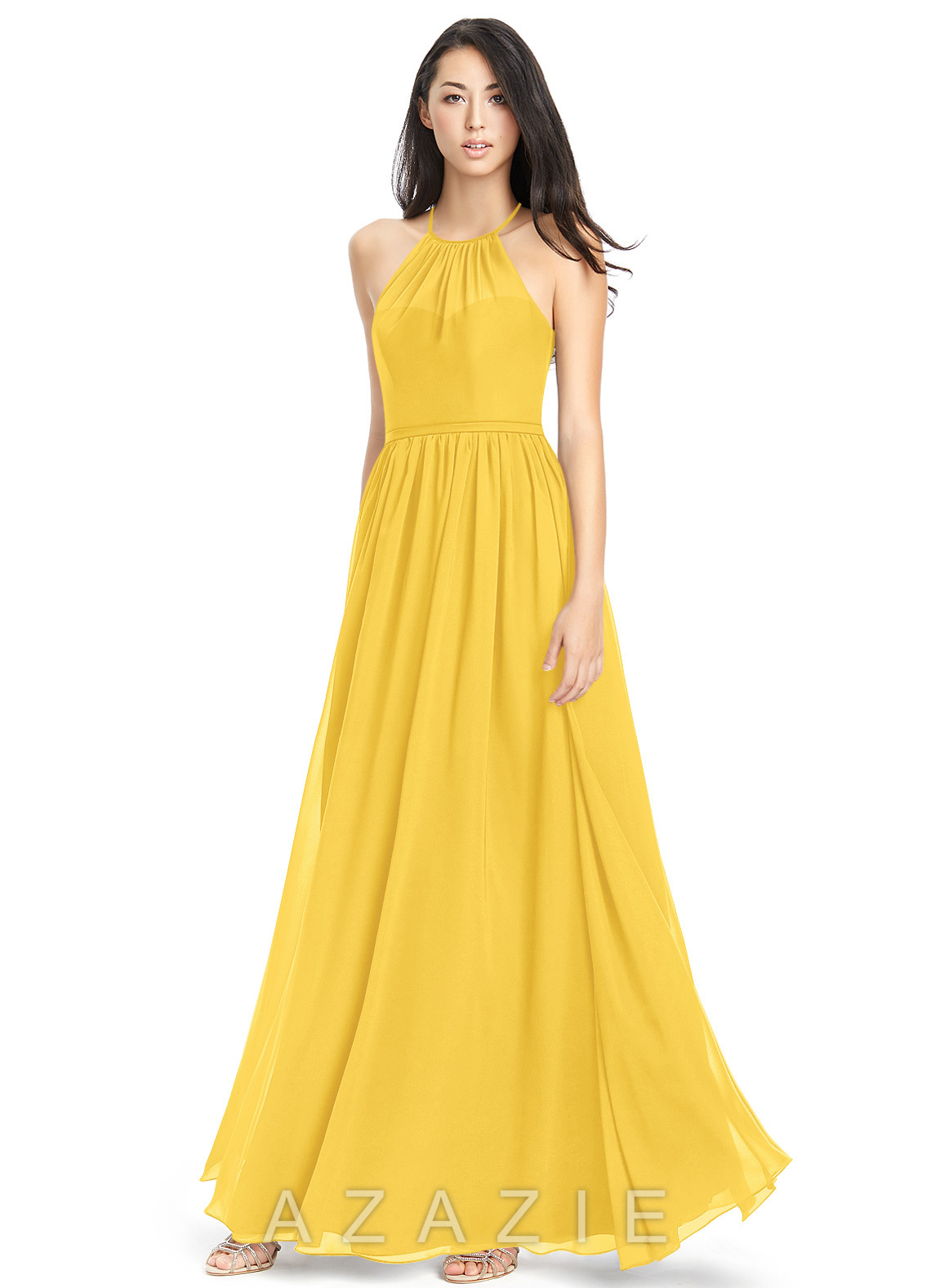 c307f013f4d Azazie Kailyn Bridesmaid Dress - Marigold