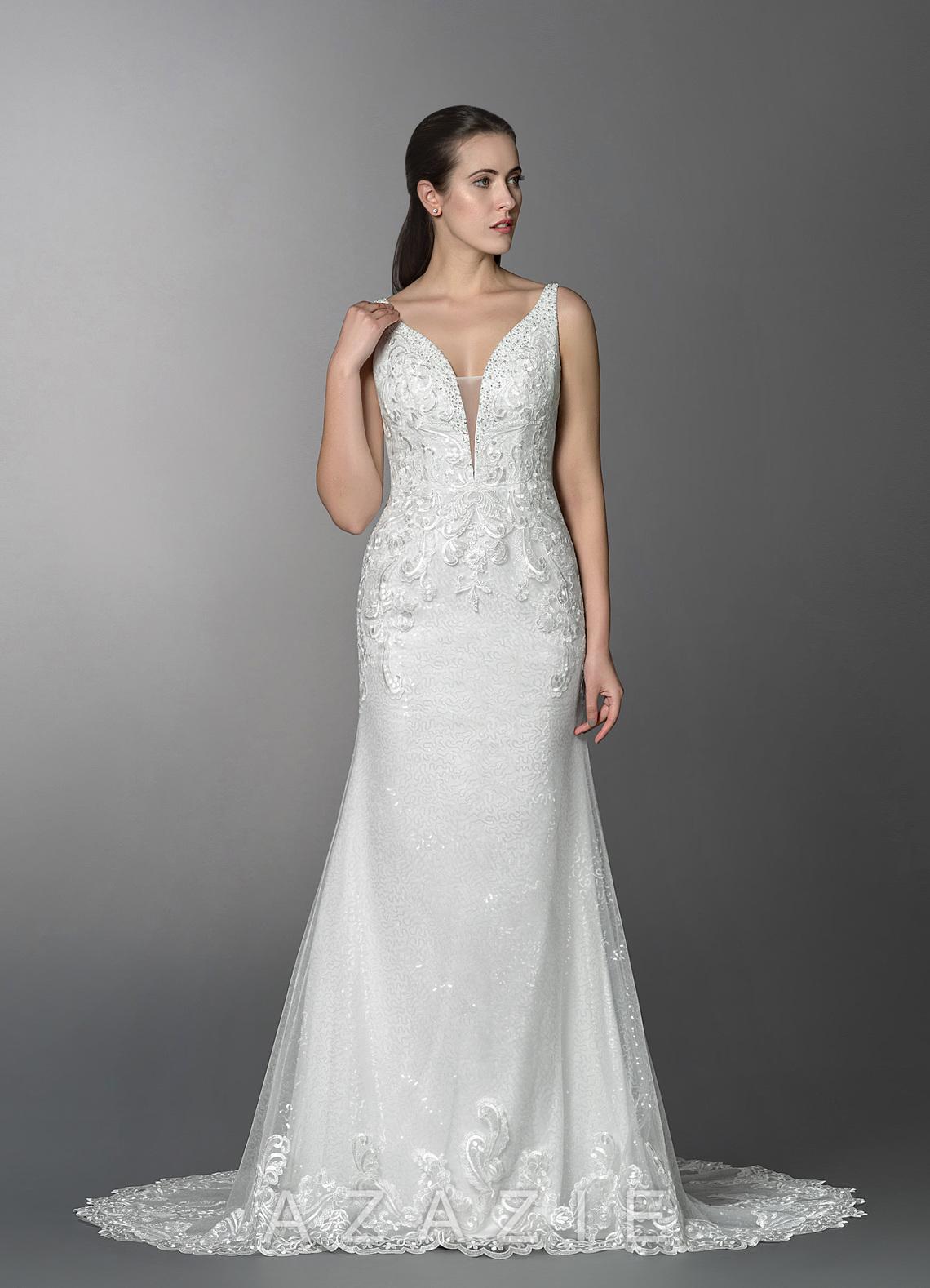 78202371920 Azazie Nelly BG Wedding Dress