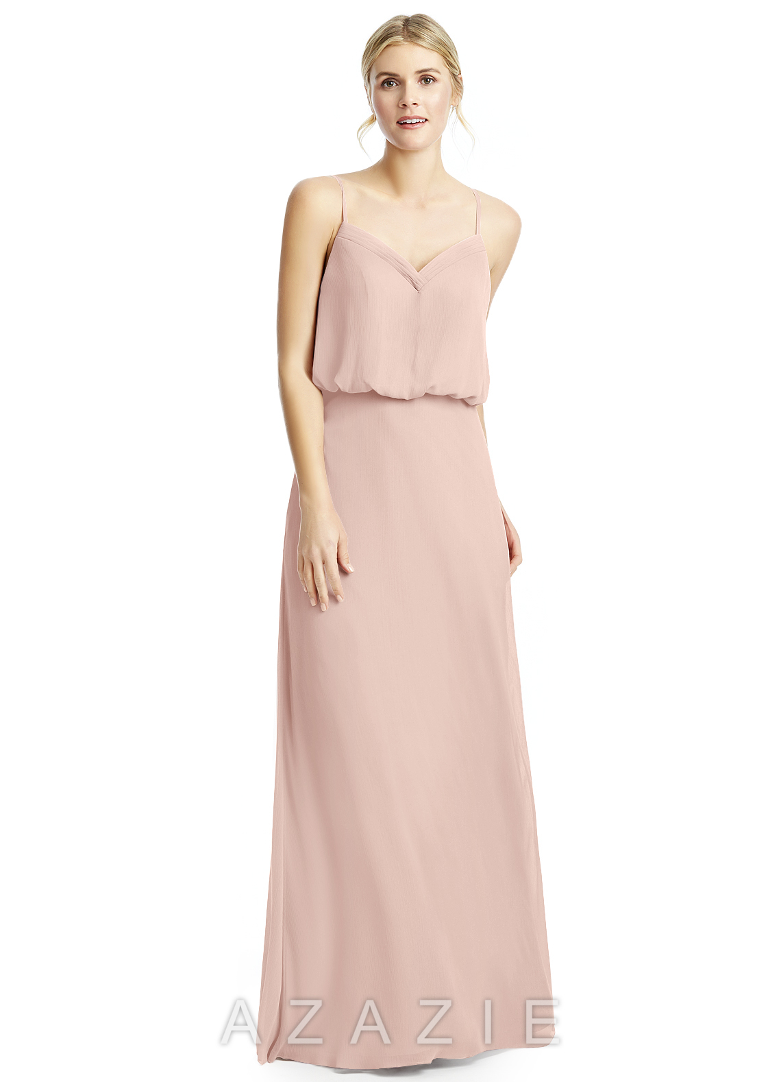 Azazie Rebecca Bridesmaid Dress - Dusty Rose | Azazie