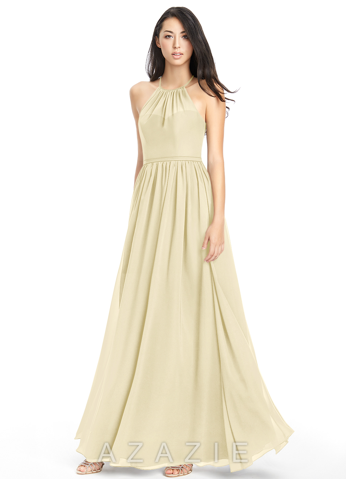 ec073f59470d6f Azazie Kailyn Bridesmaid Dress - Champagne | Azazie