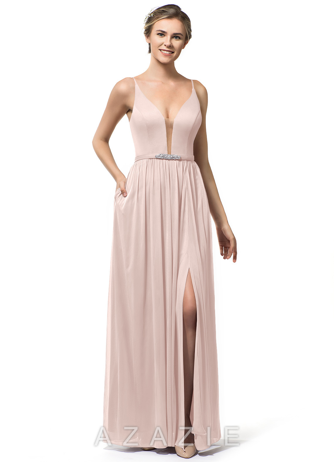 a6df05d26f0 Azazie Leah Bridesmaid Dress