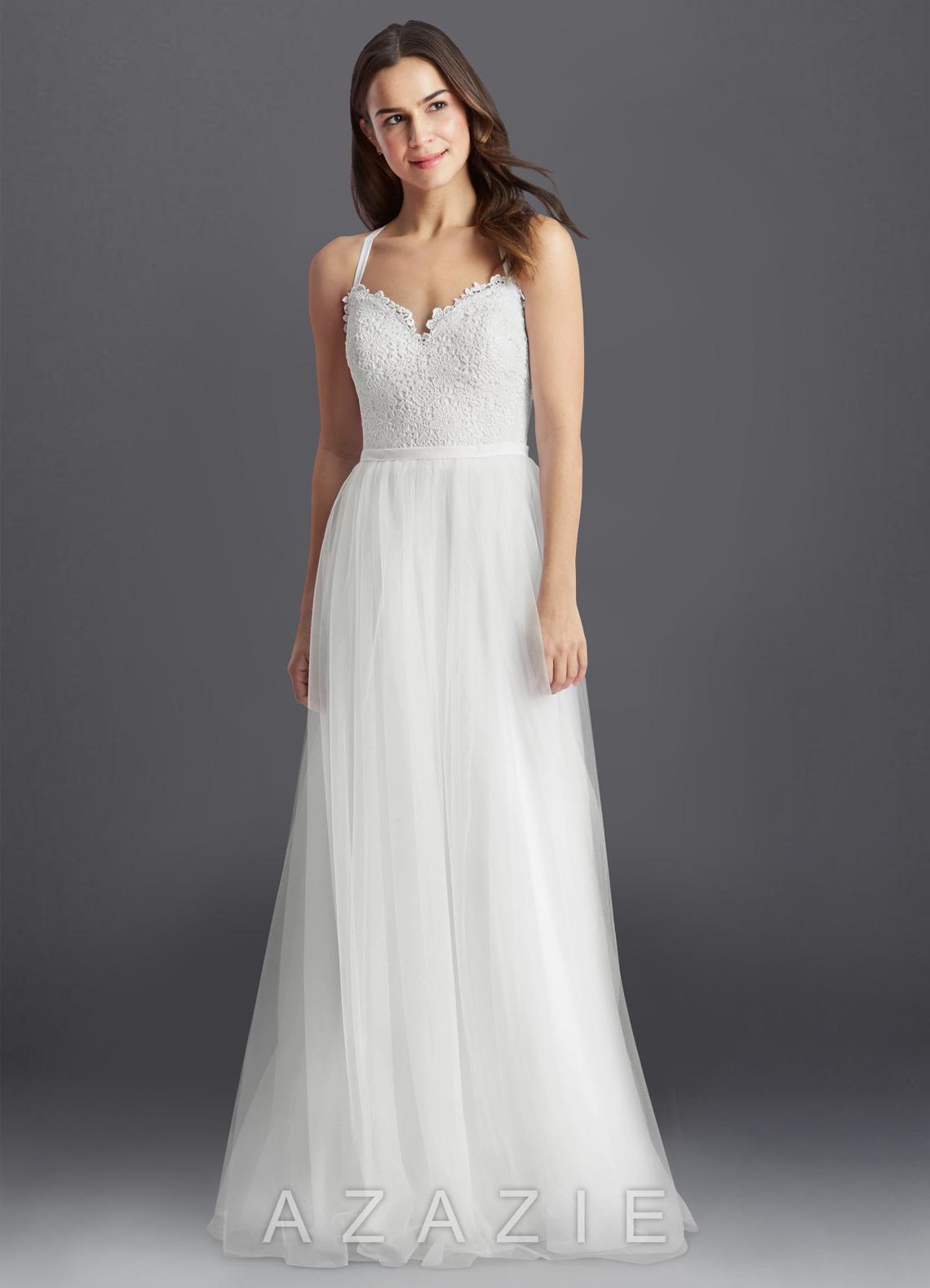 Azazie Addy BG Wedding Dress | Azazie