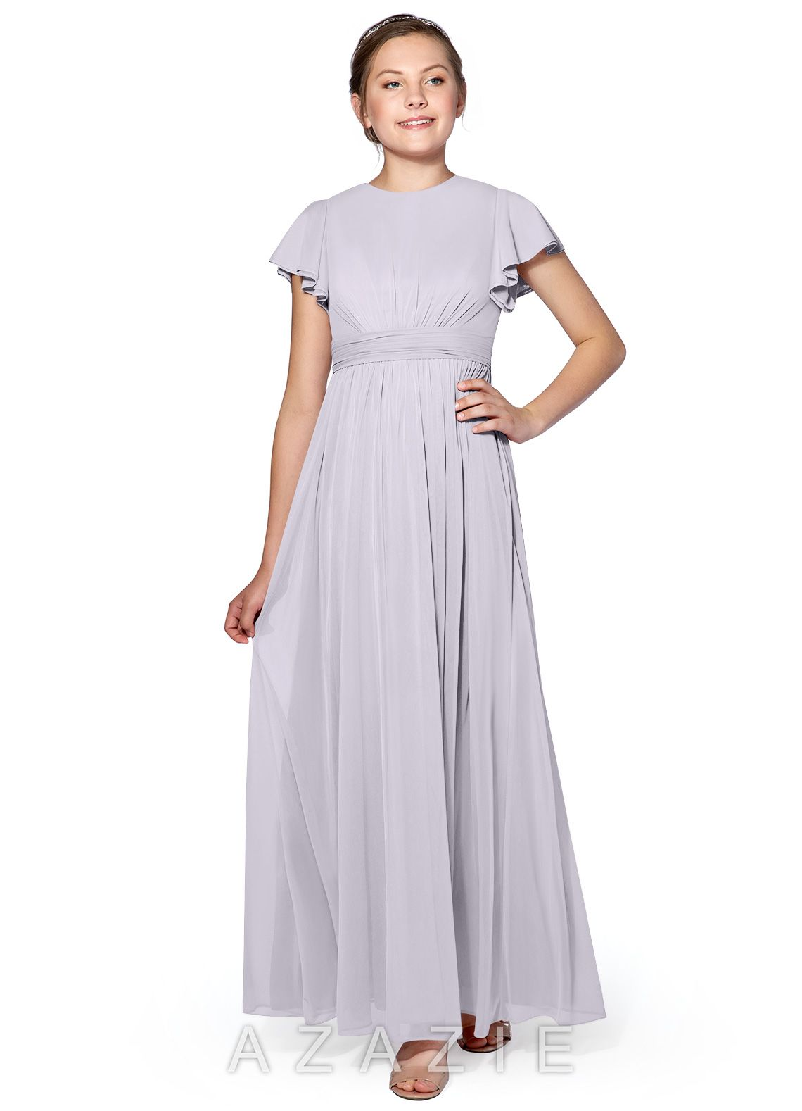 1f8501f7c1bd Azazie Mosley JBD Junior Bridesmaid Dress | Azazie