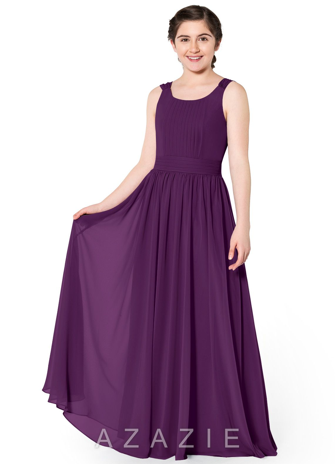 d1435d22302 Azazie Tiana JBD Junior Bridesmaid Dress