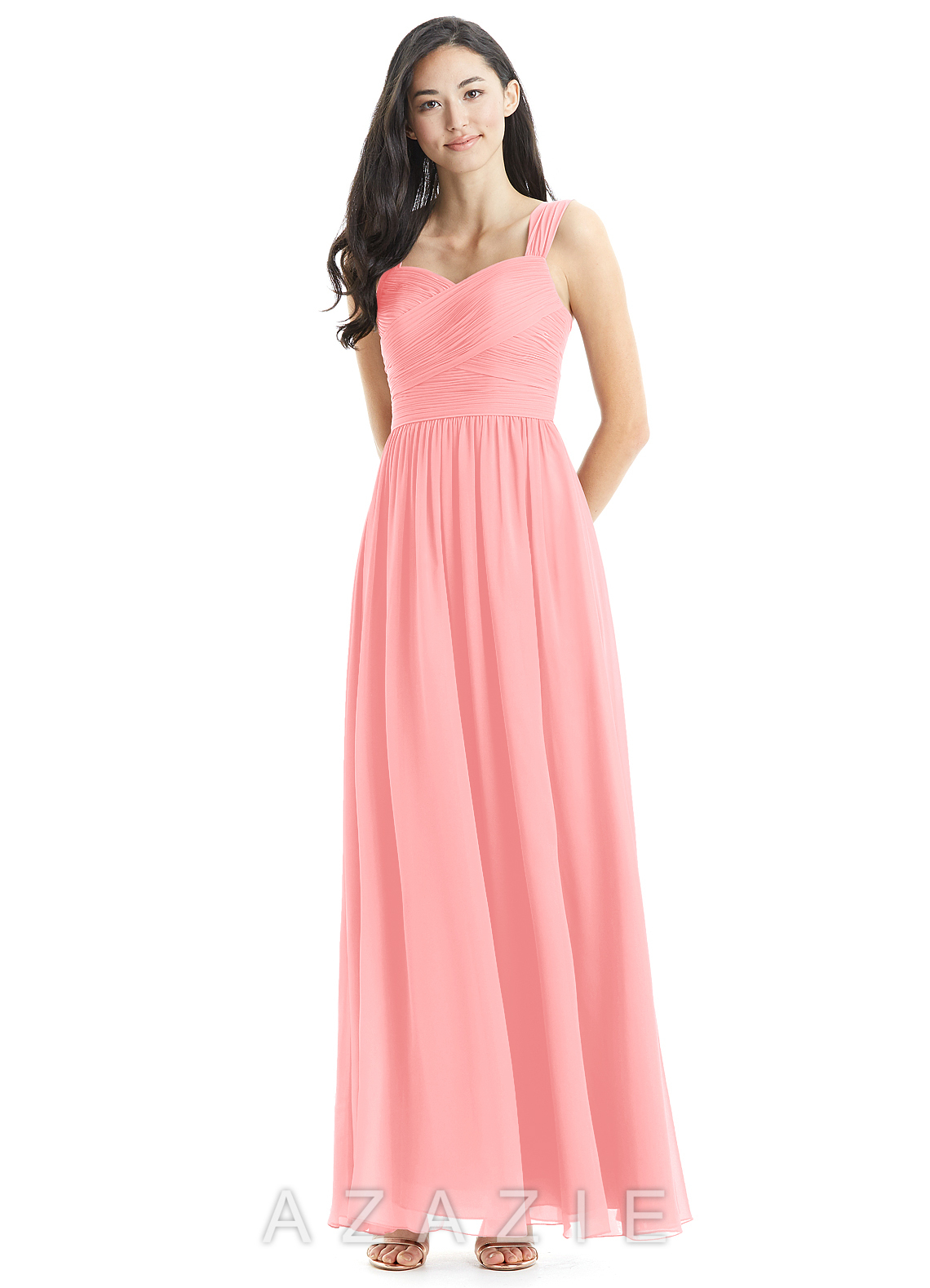 26854c0b9ed Azazie Zapheira Clearance Bridesmaid Dress