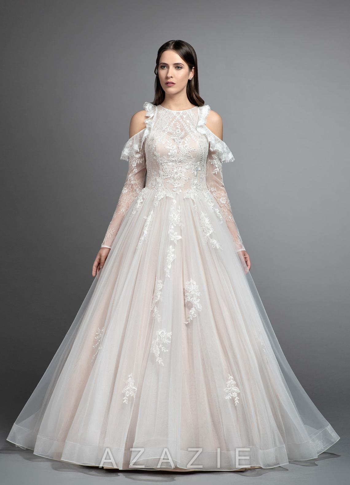 Home Wedding Dresses Azazie Isabella Bg Loading Zoom