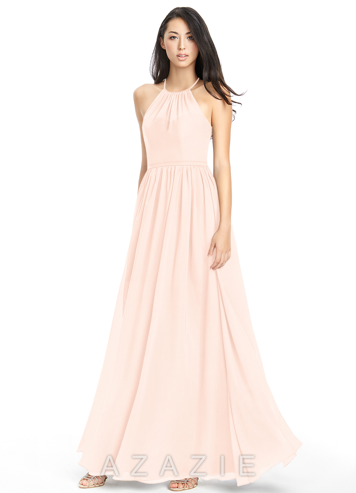 azazie kailyn bridesmaid dress pearl pink azazie