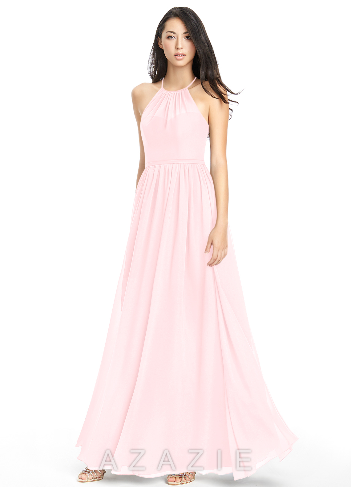 Blushing pink bridesmaid dresses blushing pink gowns azazie azazie kailyn azazie kailyn ombrellifo Images