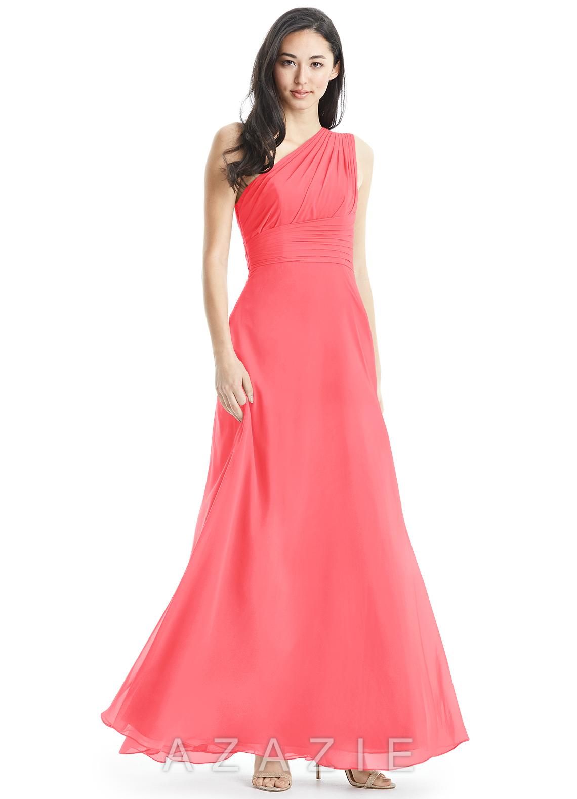 Azazie ashley bridesmaid dress azazie color watermelon ombrellifo Image collections