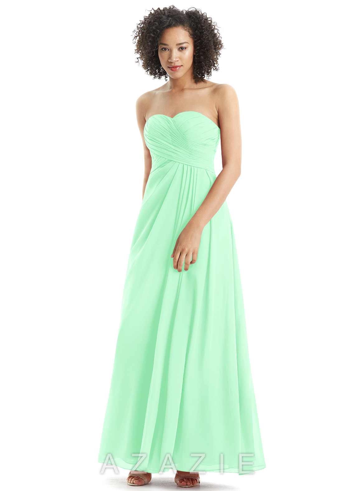 Azazie arabella bridesmaid dress azazie color mint green ombrellifo Choice Image