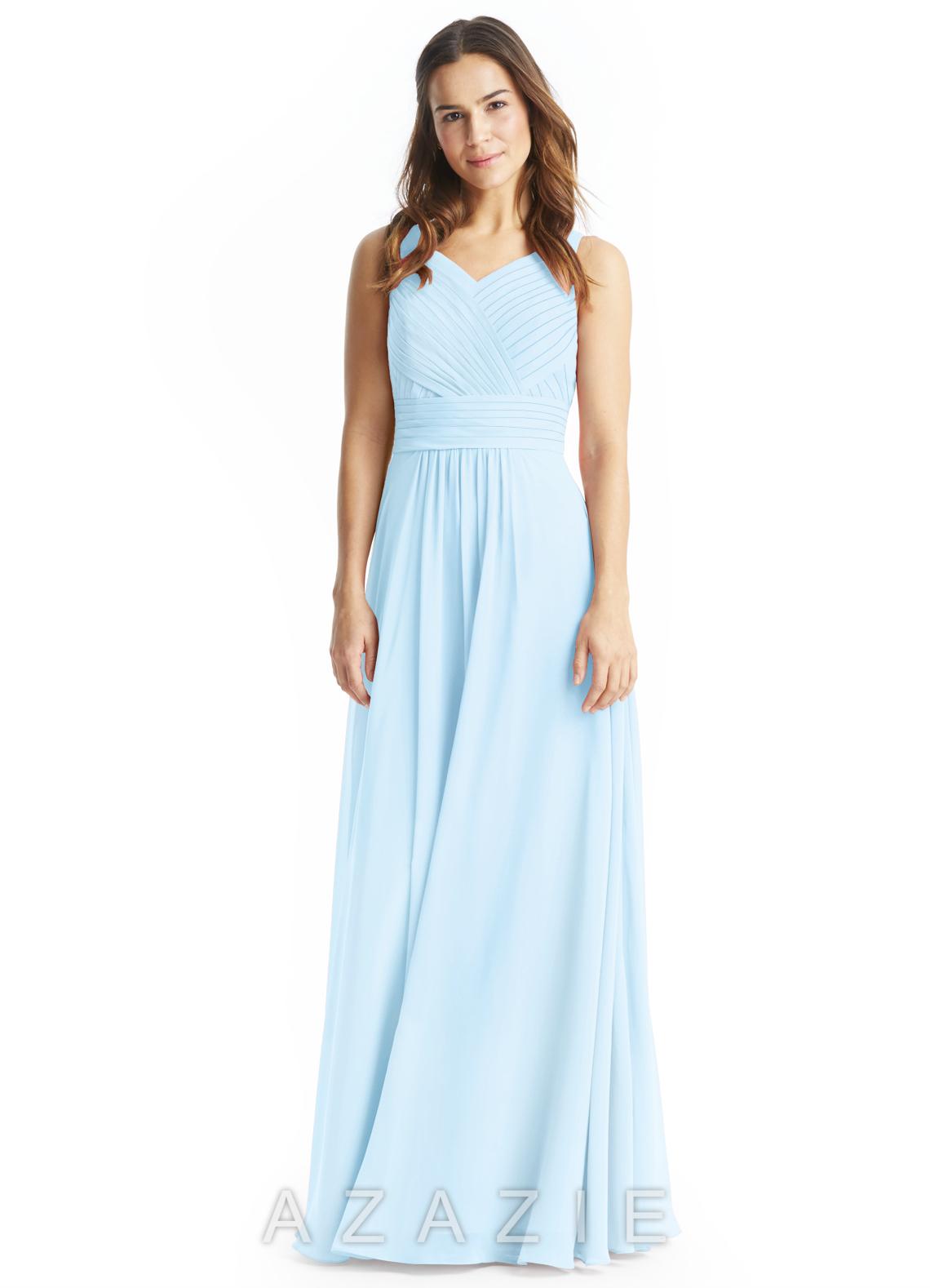 Sky blue bridesmaid dresses sky blue gowns azazie azazie pierrette azazie pierrette ombrellifo Images