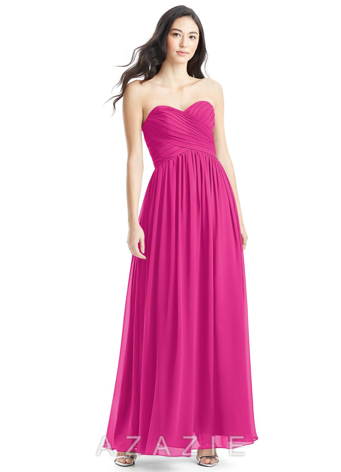 Azazie kristen bridesmaid dress azazie color fuchsia ombrellifo Image collections