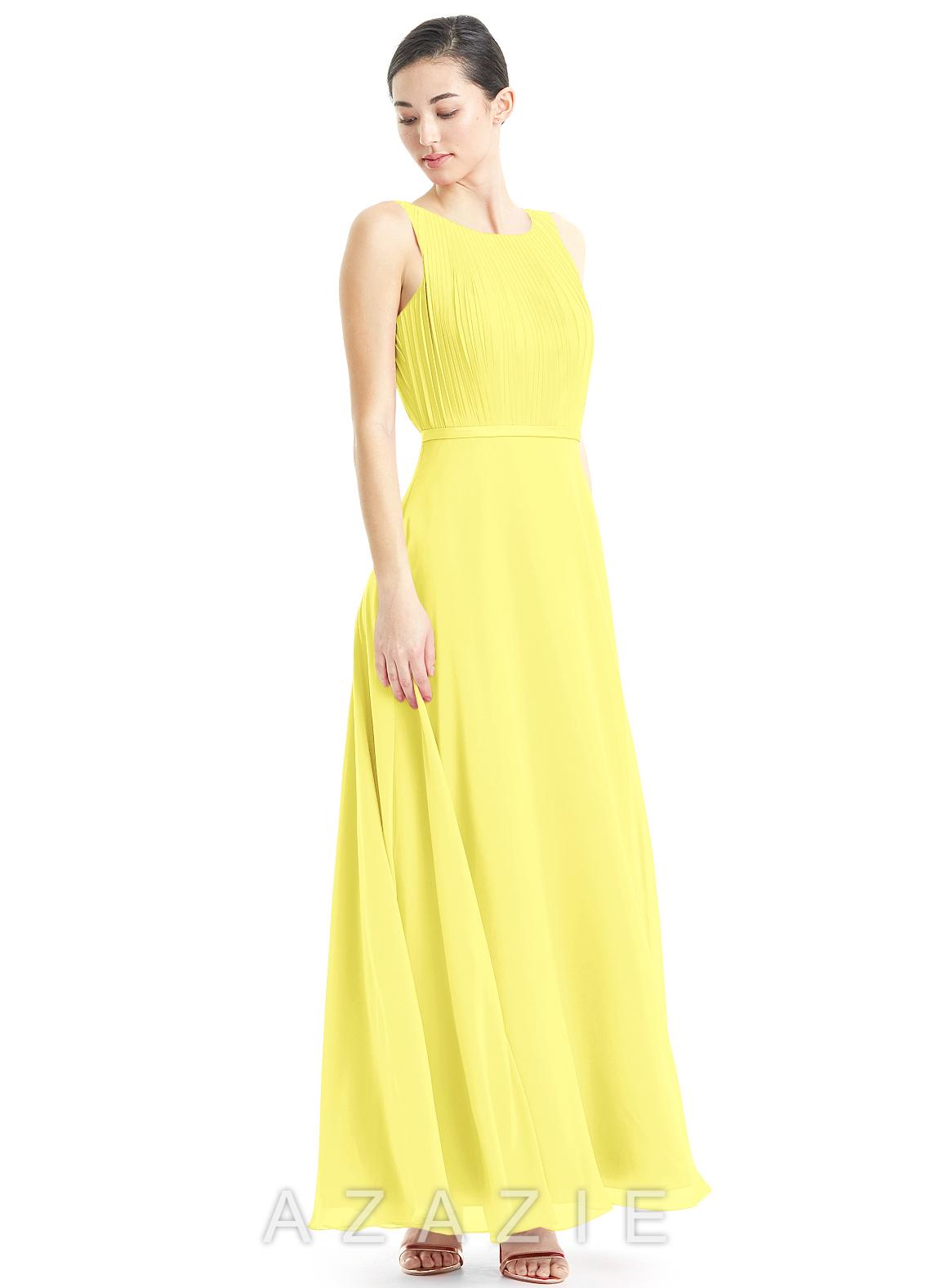 Azazie avery bridesmaid dress azazie color lemon ombrellifo Choice Image