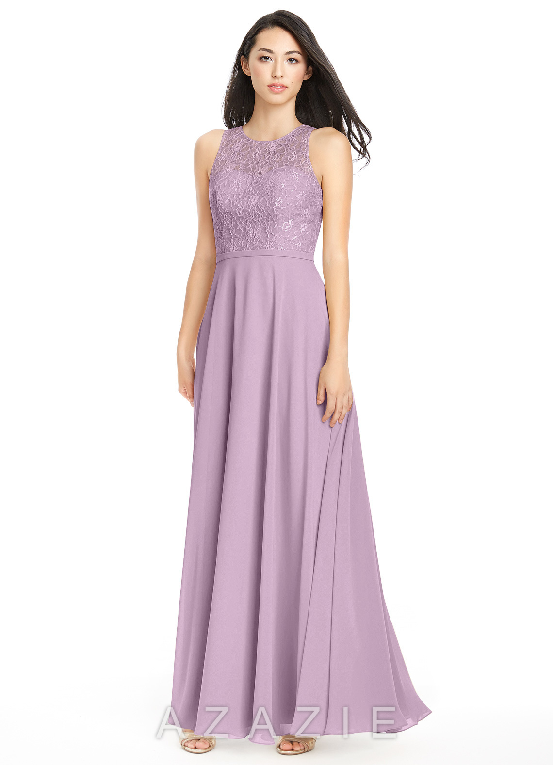 cheap bridesmaid dresses in wisteria