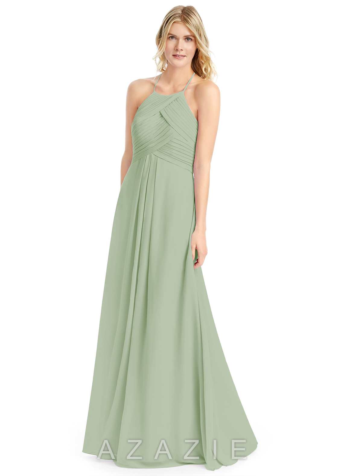 Azazie ginger bridesmaid dress azazie color dusty sage ombrellifo Gallery