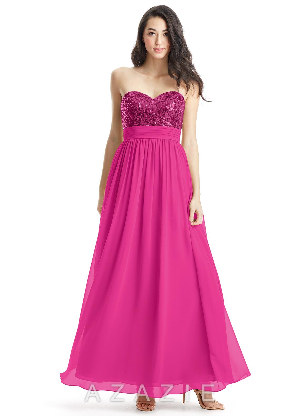 Azazie lucy bridesmaid dress azazie color fuchsia ombrellifo Choice Image