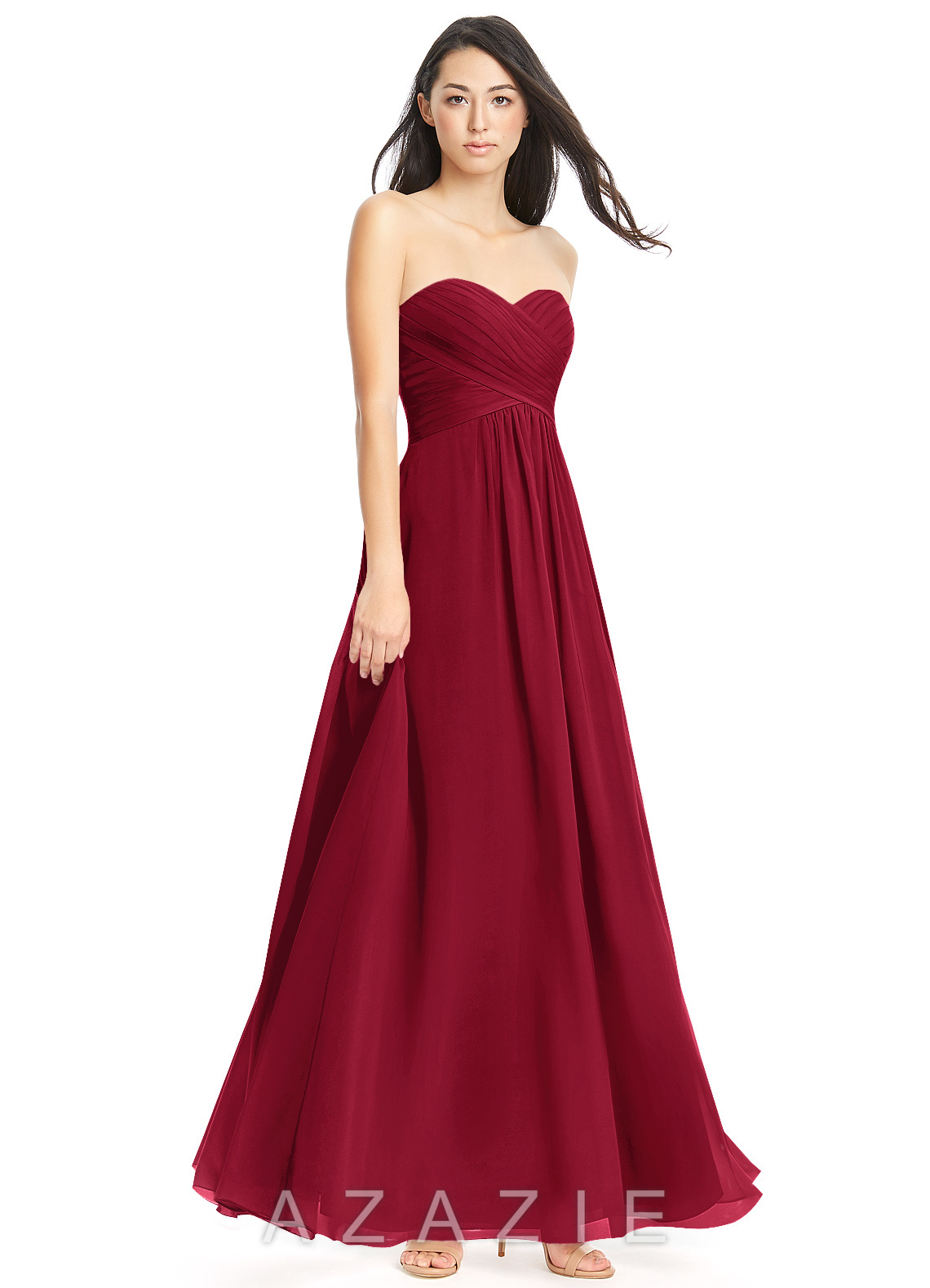 Azazie yazmin bridesmaid dress azazie color burgundy ombrellifo Gallery