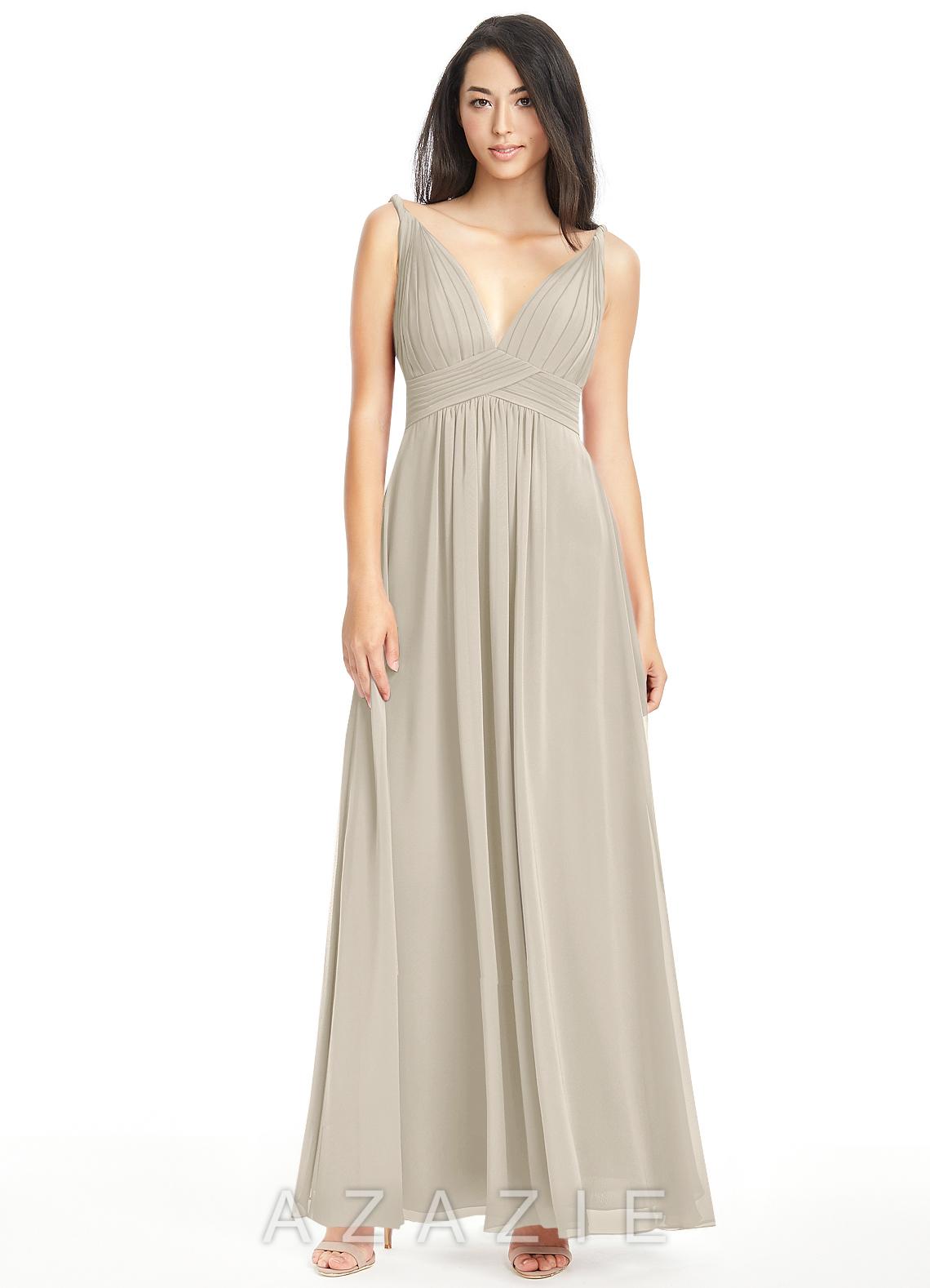 Azazie maren bridesmaid dress azazie color taupe ombrellifo Gallery