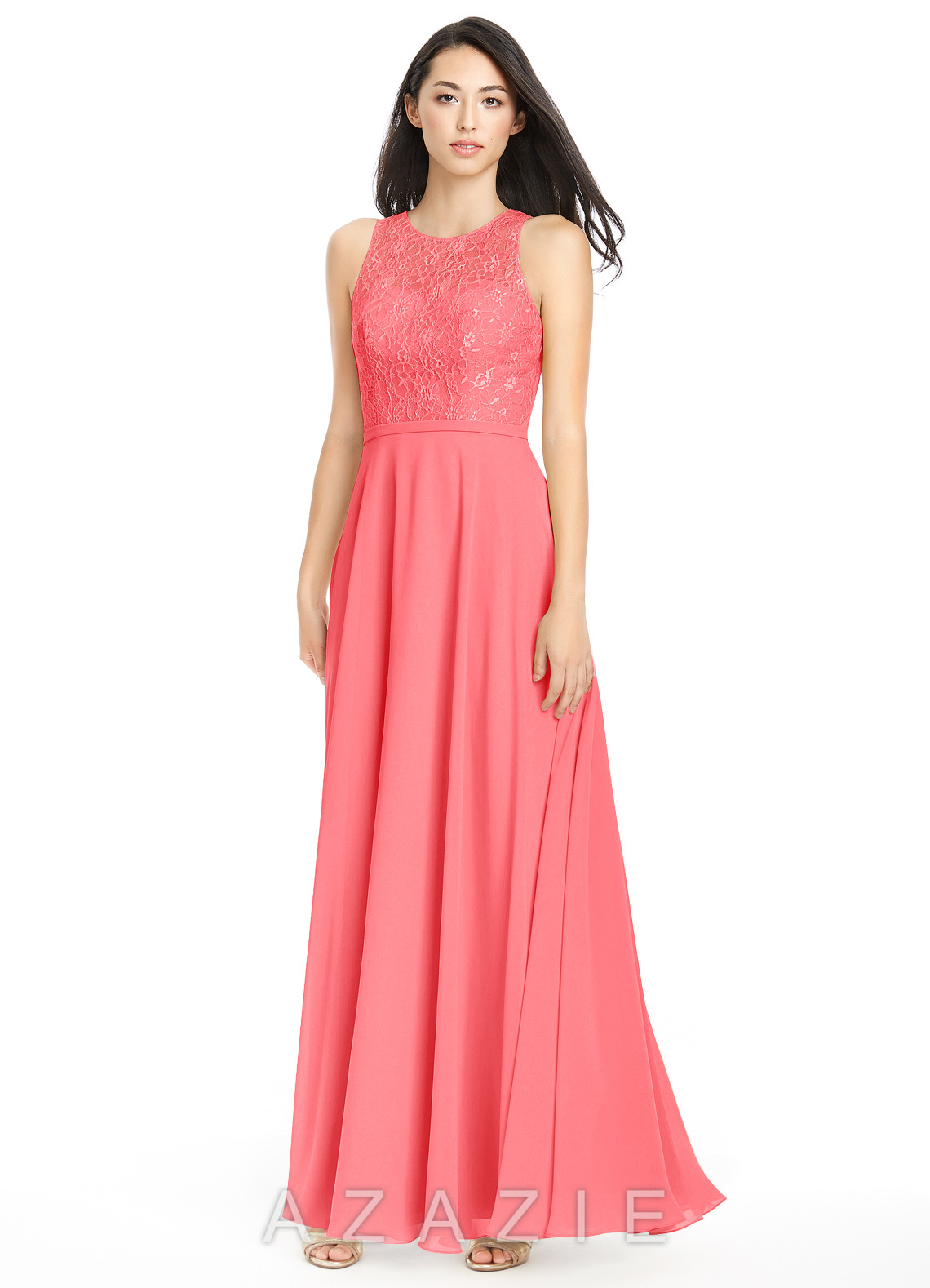 Azazie frederica bridesmaid dress azazie color watermelon ombrellifo Images